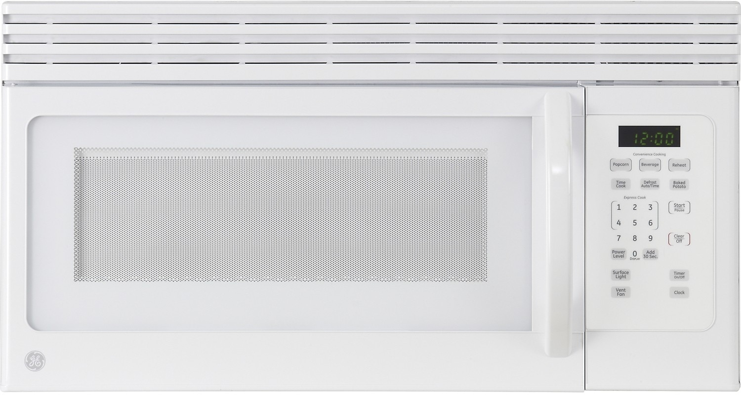 GE 1.6 Cu. Ft. Over-the-Range Microwave - White