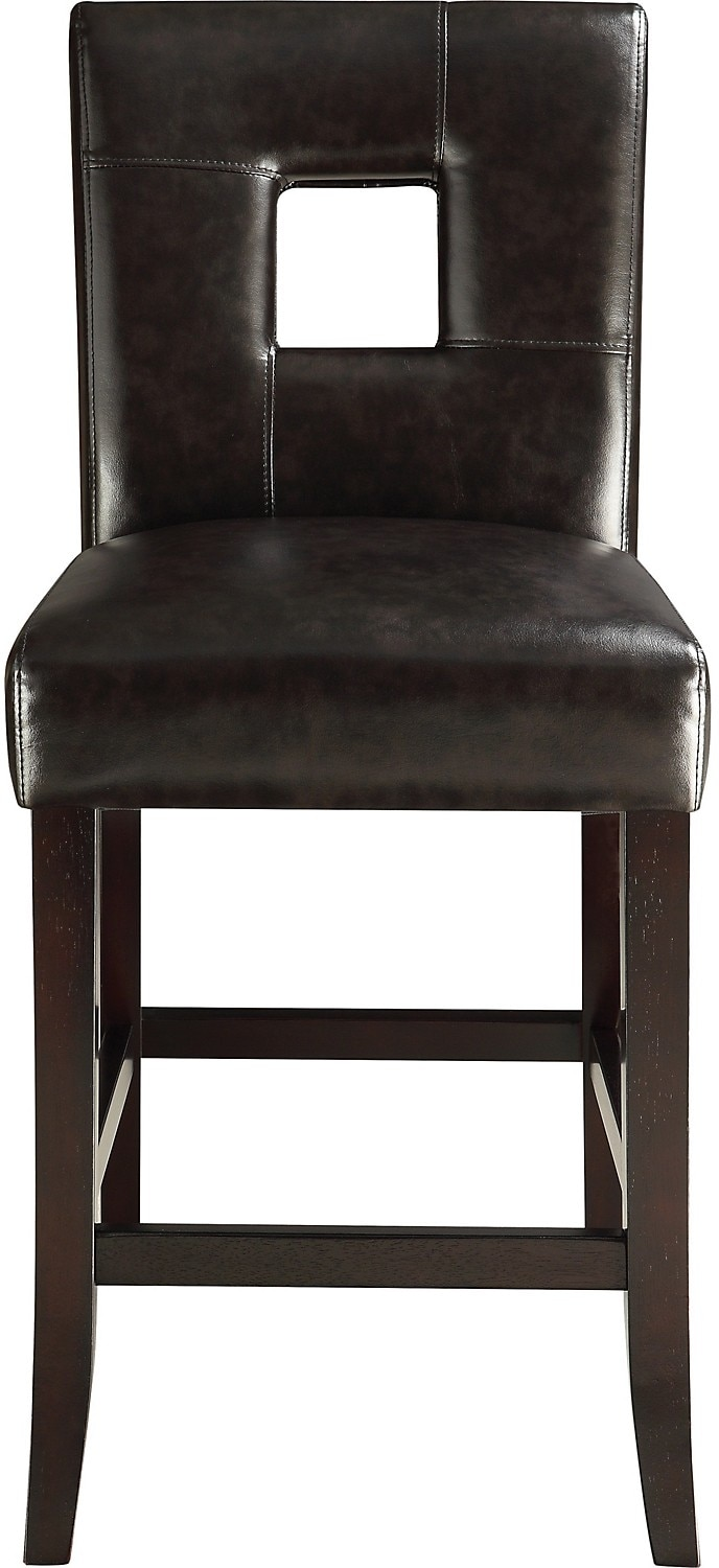 Dining Room Furniture - McKena Counter-Height Dining Chair – Brown