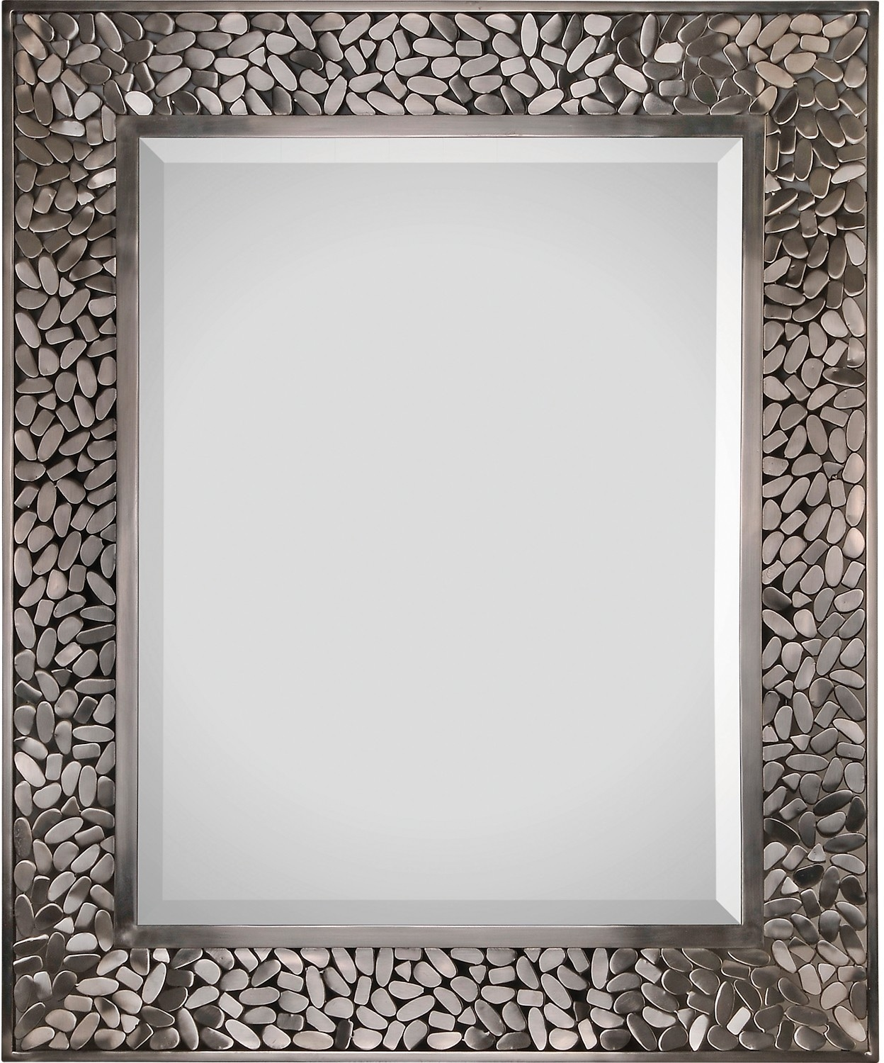 Miroir Milan nickel