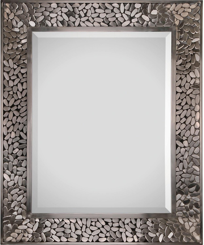 Home Accessories - Milan Nickel Mirror