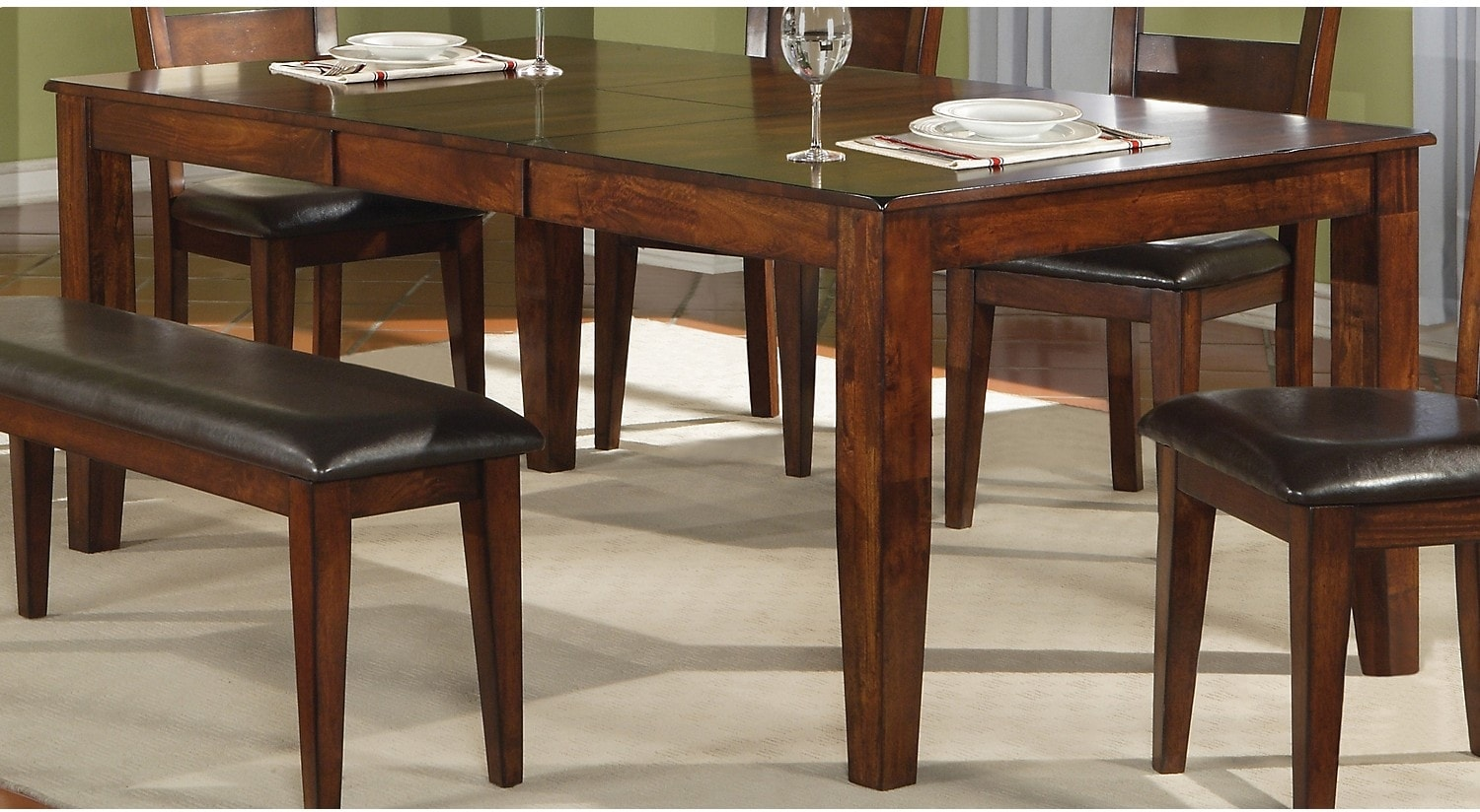 Dining Room Furniture - Dakota Light Dining Table