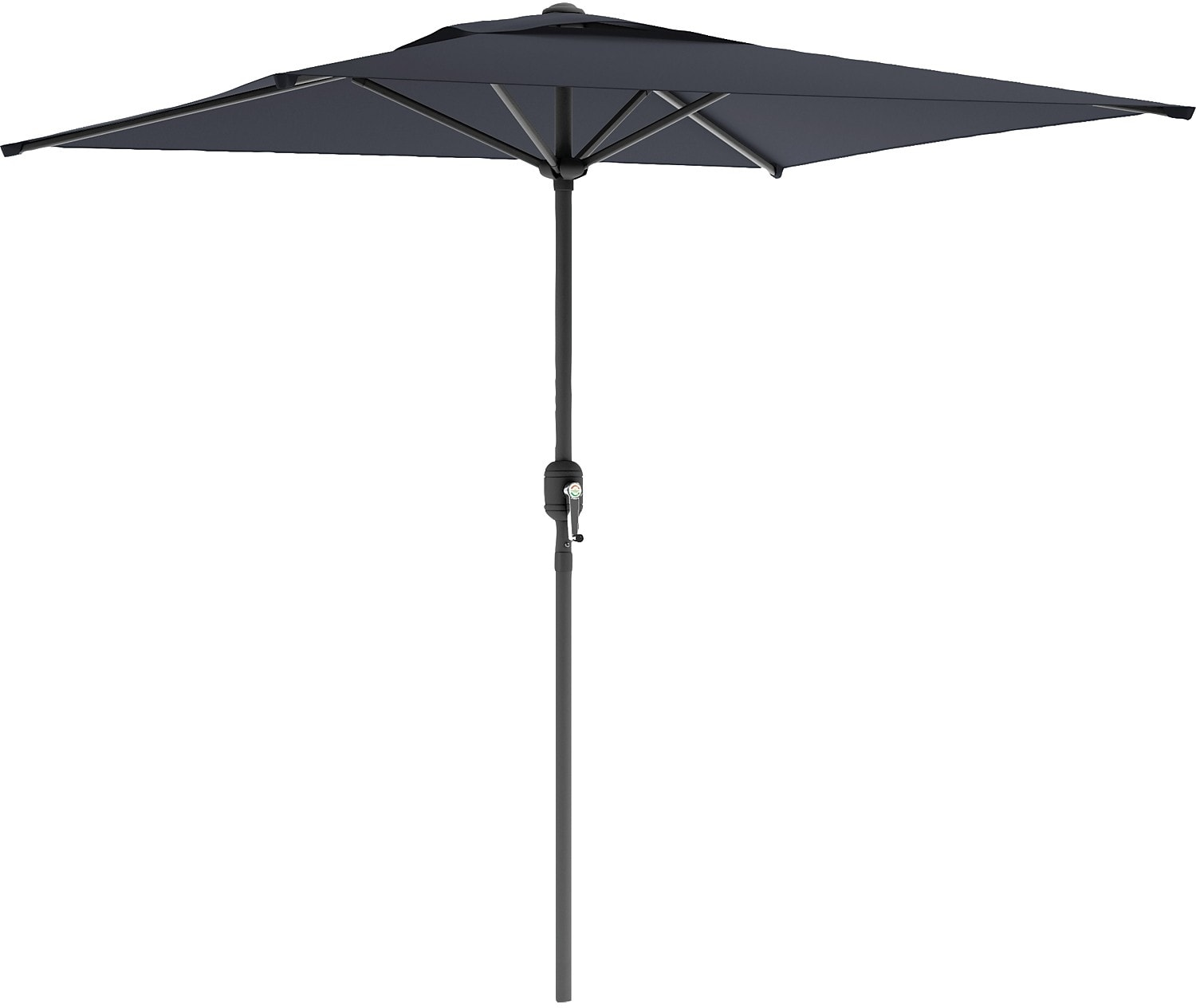 Square Patio Umbrella - Black