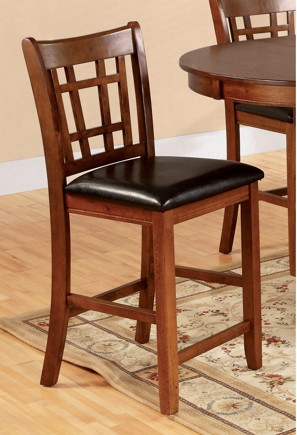 Dining Room Furniture - Dalton Oak Counter-Height Chair