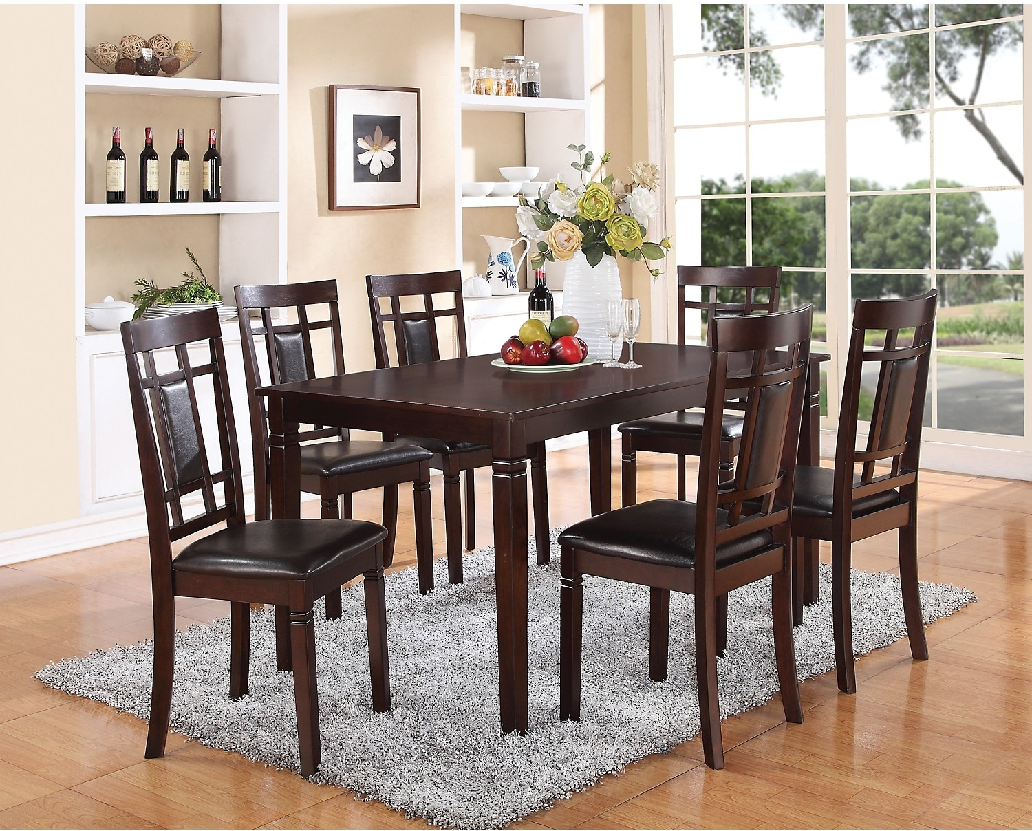 Aran 7 Piece Casual Dining Package The Brick
