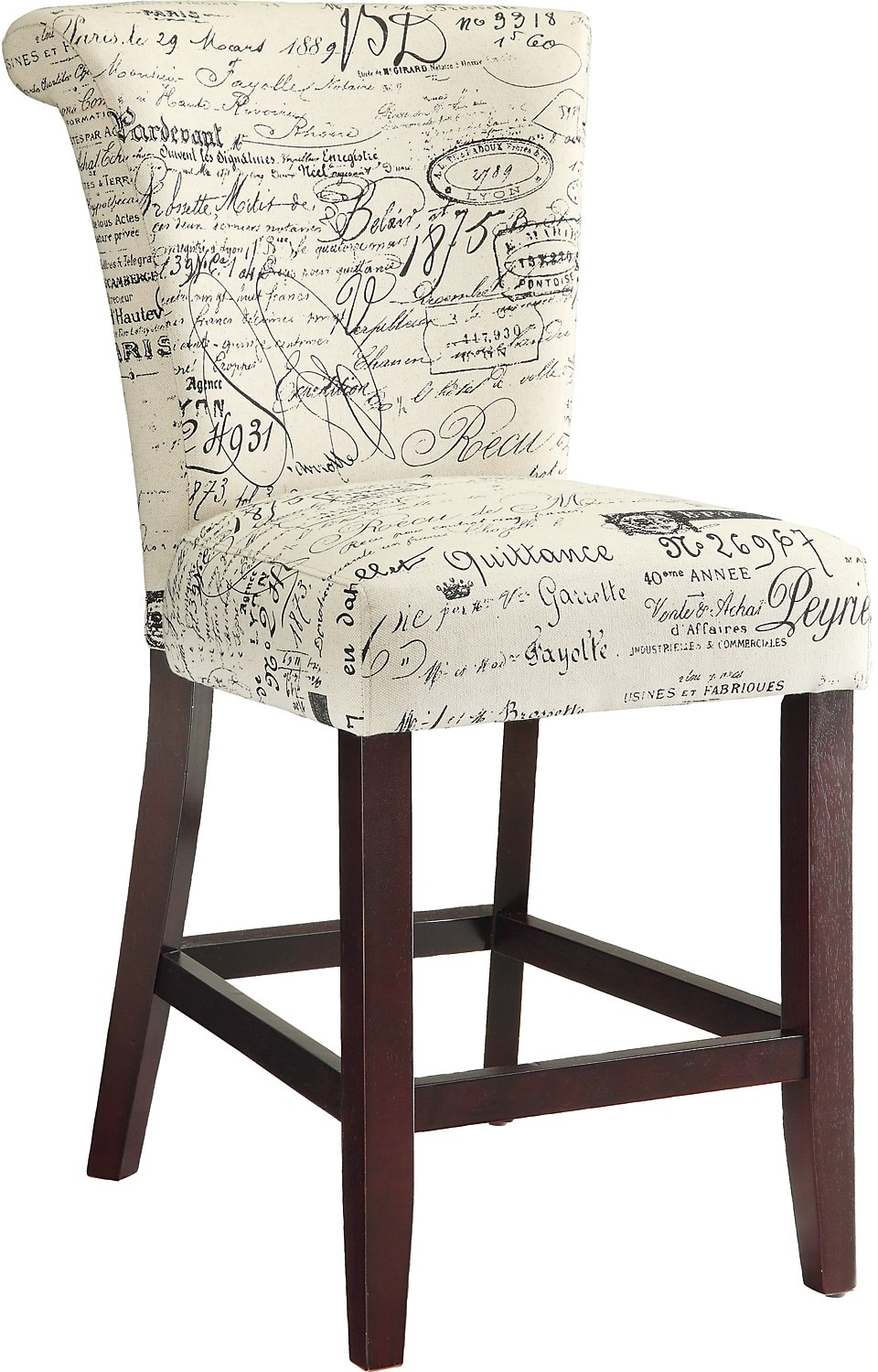 Script Counter Height Chair The Brick