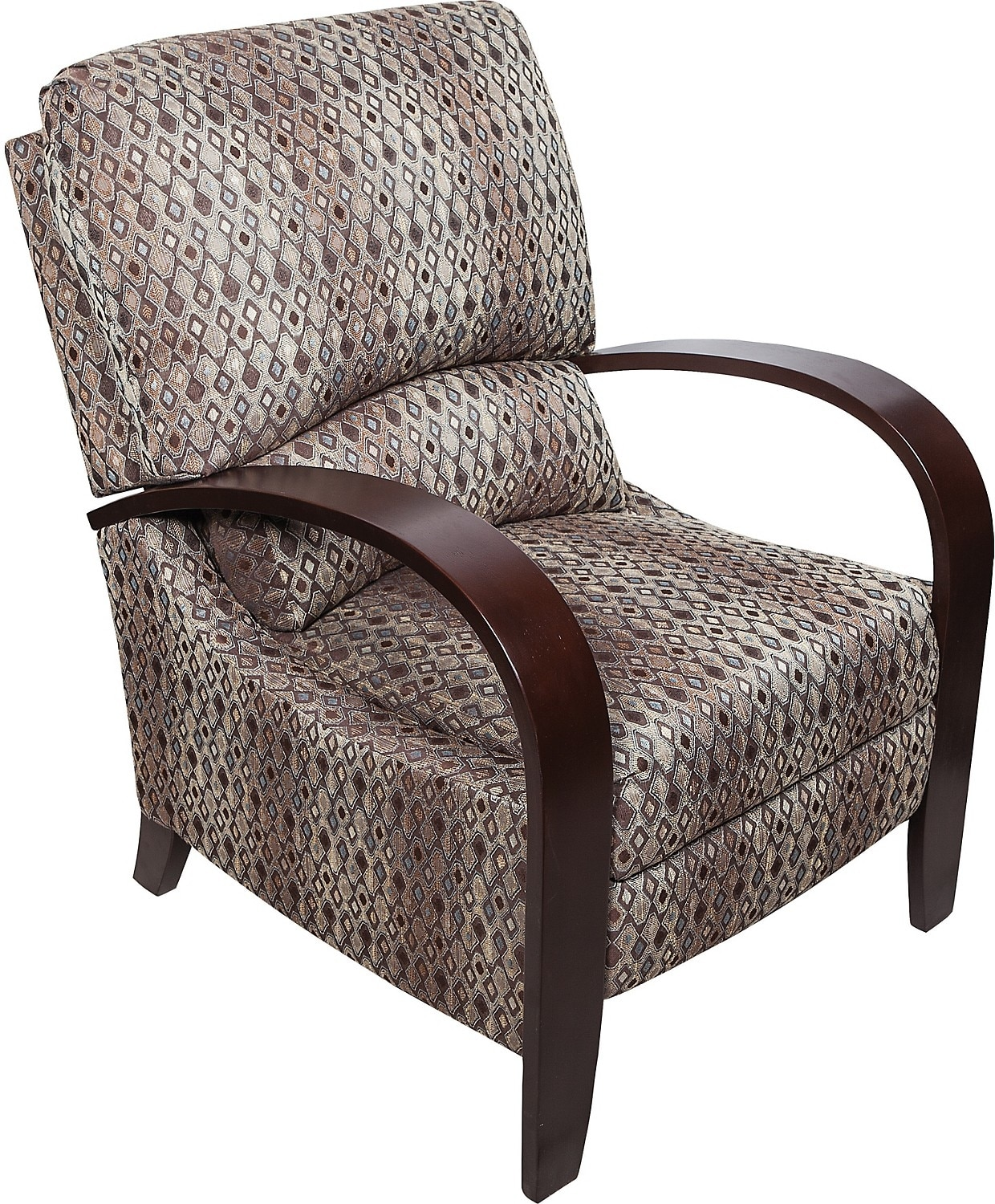 Aaron Fabric Accent Reclining Chair The Brick