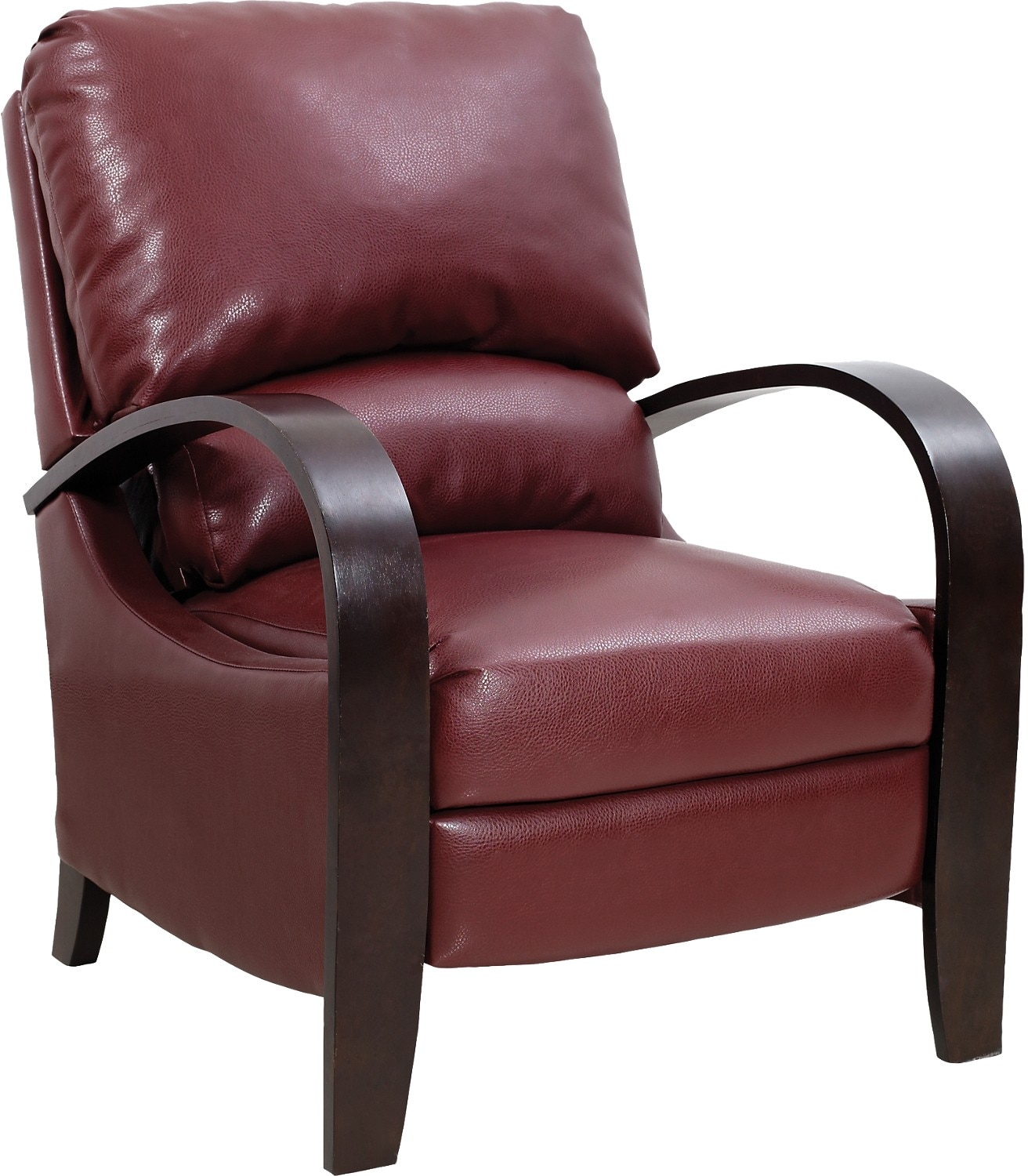Recliner Accent Chairs: Aaron Reclining Fabric Accent Chair €� Lava