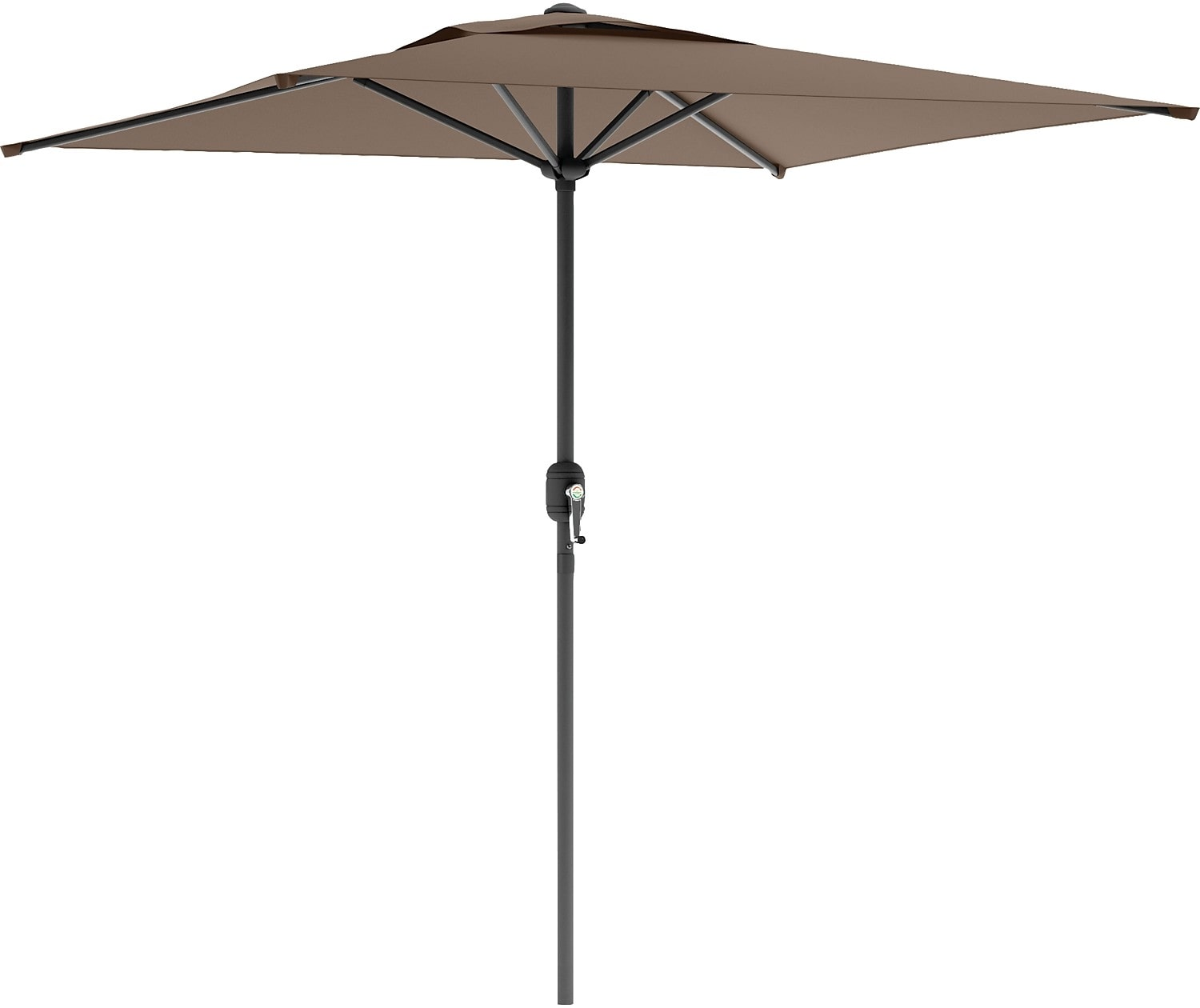 Square Patio Umbrella – Sandy Brown