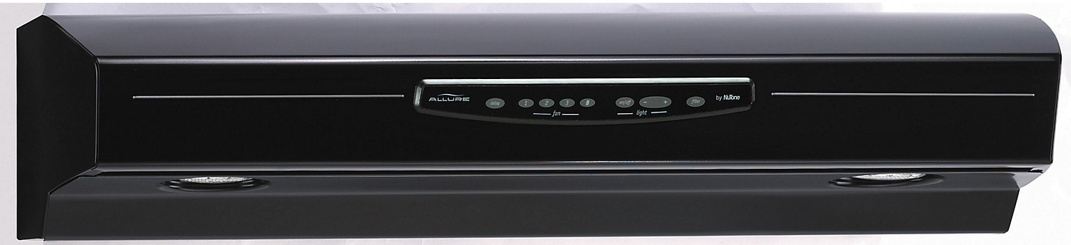 Cooking Products - NuTone Allure® III 430 CFM Range Hood - Black