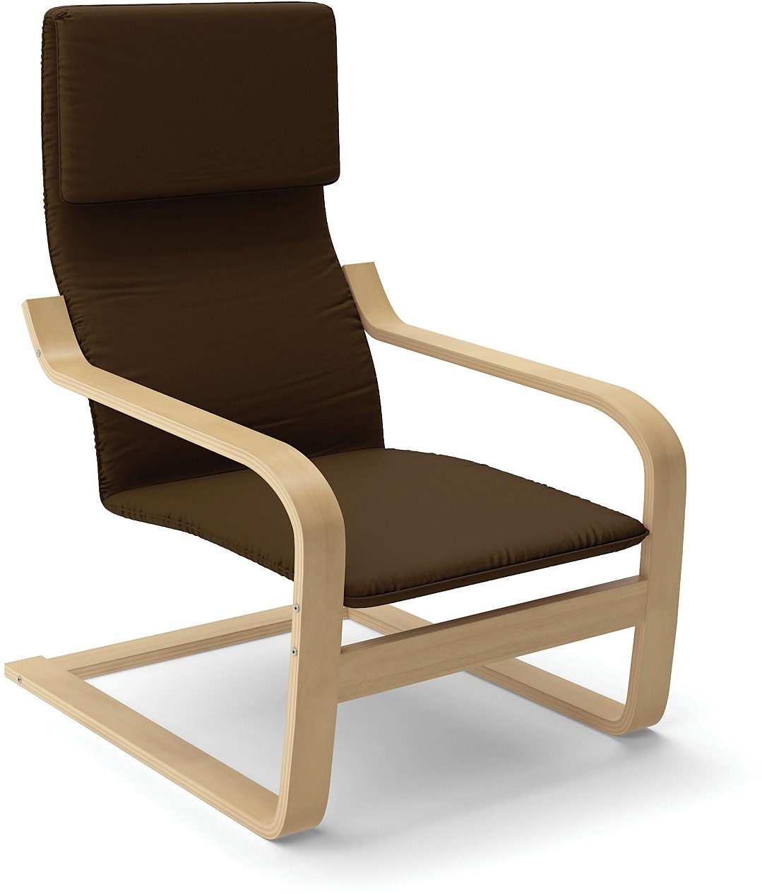 Vonn Contemporary Armchair – Brown