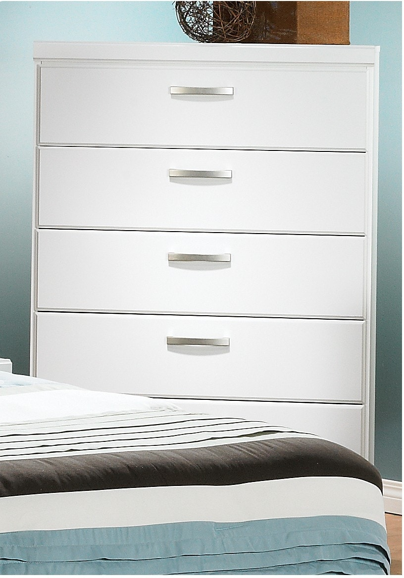Bedroom Furniture - Bianco Chest