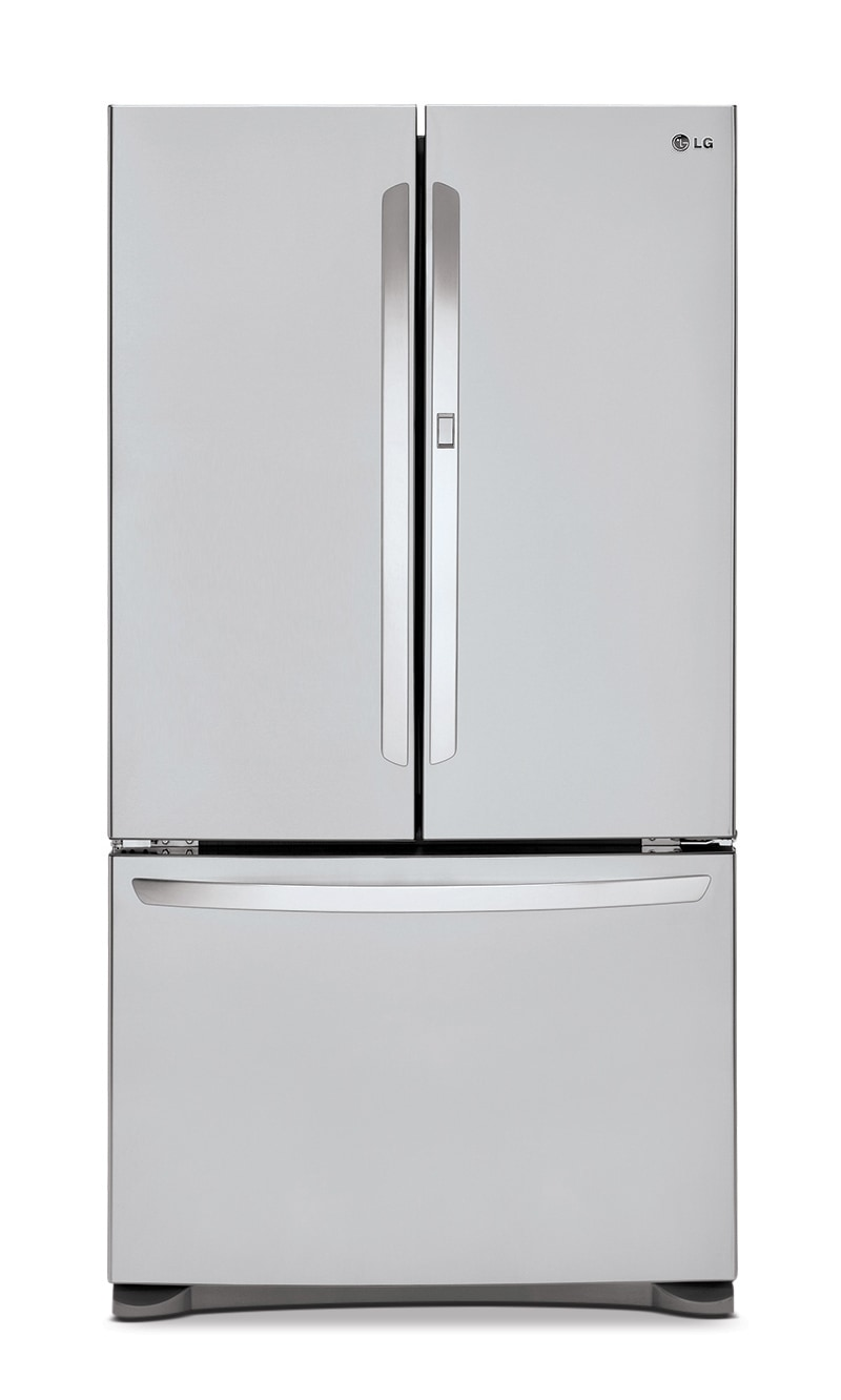 Refrigerators and Freezers - LG Appliances Stainless Steel French Door Refrigerator (24.8 Cu. Ft.) - LFCS25663S