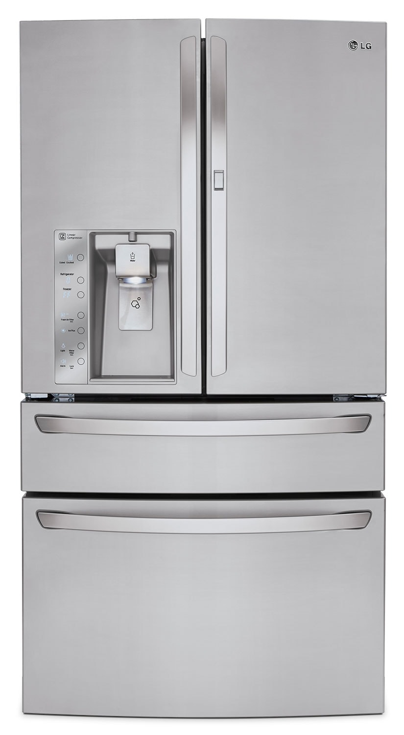 Refrigerators and Freezers - LG Appliances Stainless Steel French Door Refrigerator (29.7 Cu. Ft.) - LMXS30776S