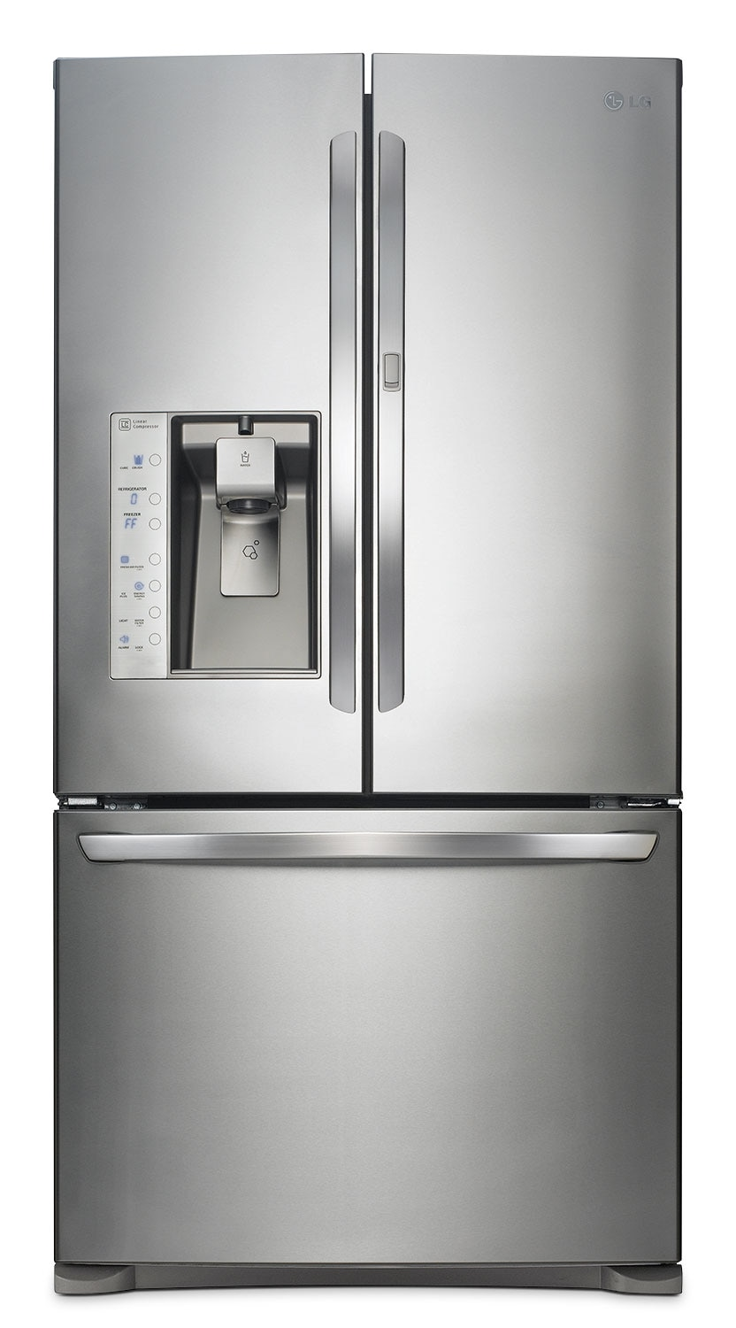 Refrigerators and Freezers - LG Appliances Stainless Steel French Door Refrigerator (29.6 Cu. Ft.) - LFXS30766S