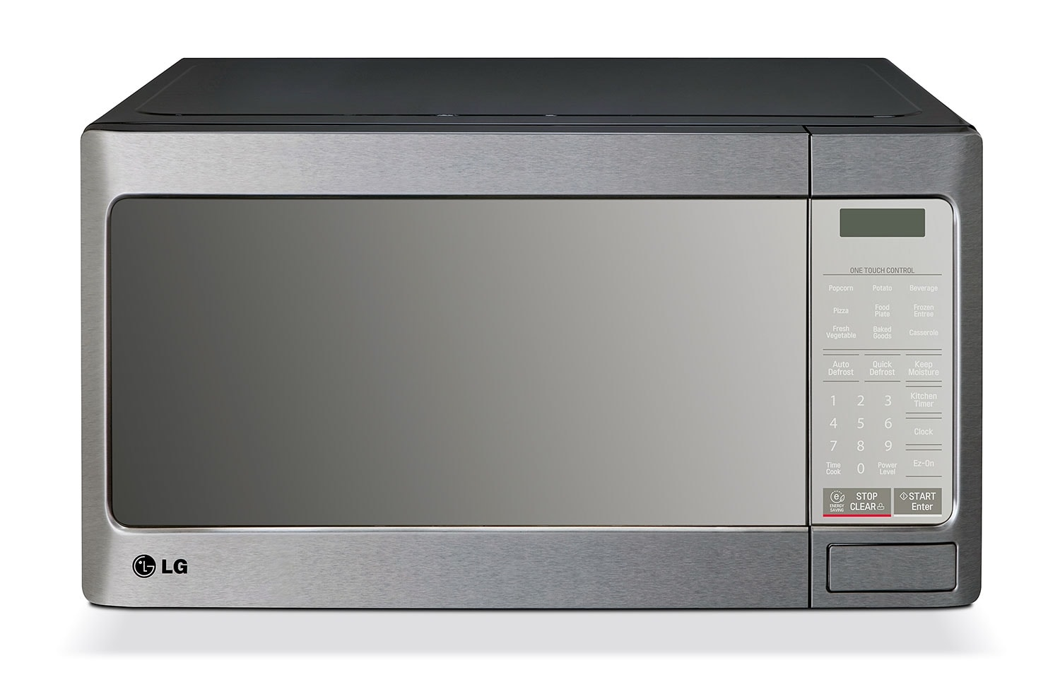 Cooking Products - LG Appliances Stainless Steel Microwave (1.1 Cu. Ft.) - LMC1195ST