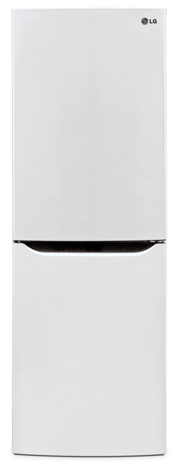 Refrigerators and Freezers - LG Appliances White Bottom-Mount Refrigerator (10.2 Cu. Ft.) - LBN10551SW