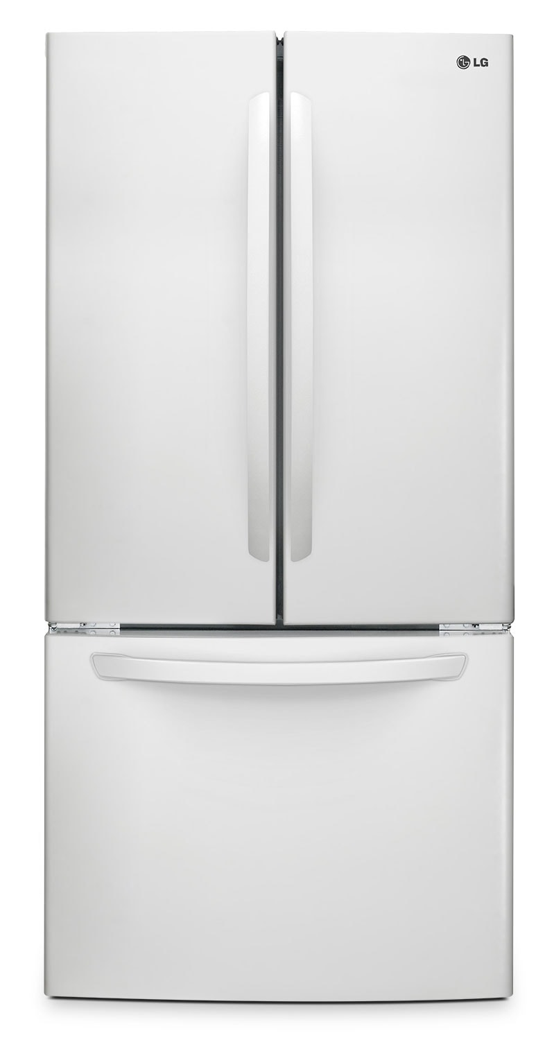 Refrigerators and Freezers - LG Appliances White French Door Refrigerator (23.9 Cut. Ft.) - LFC24786SW