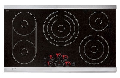 "Cooking Products - LG Appliances 36"" cooktop LCE3681ST"