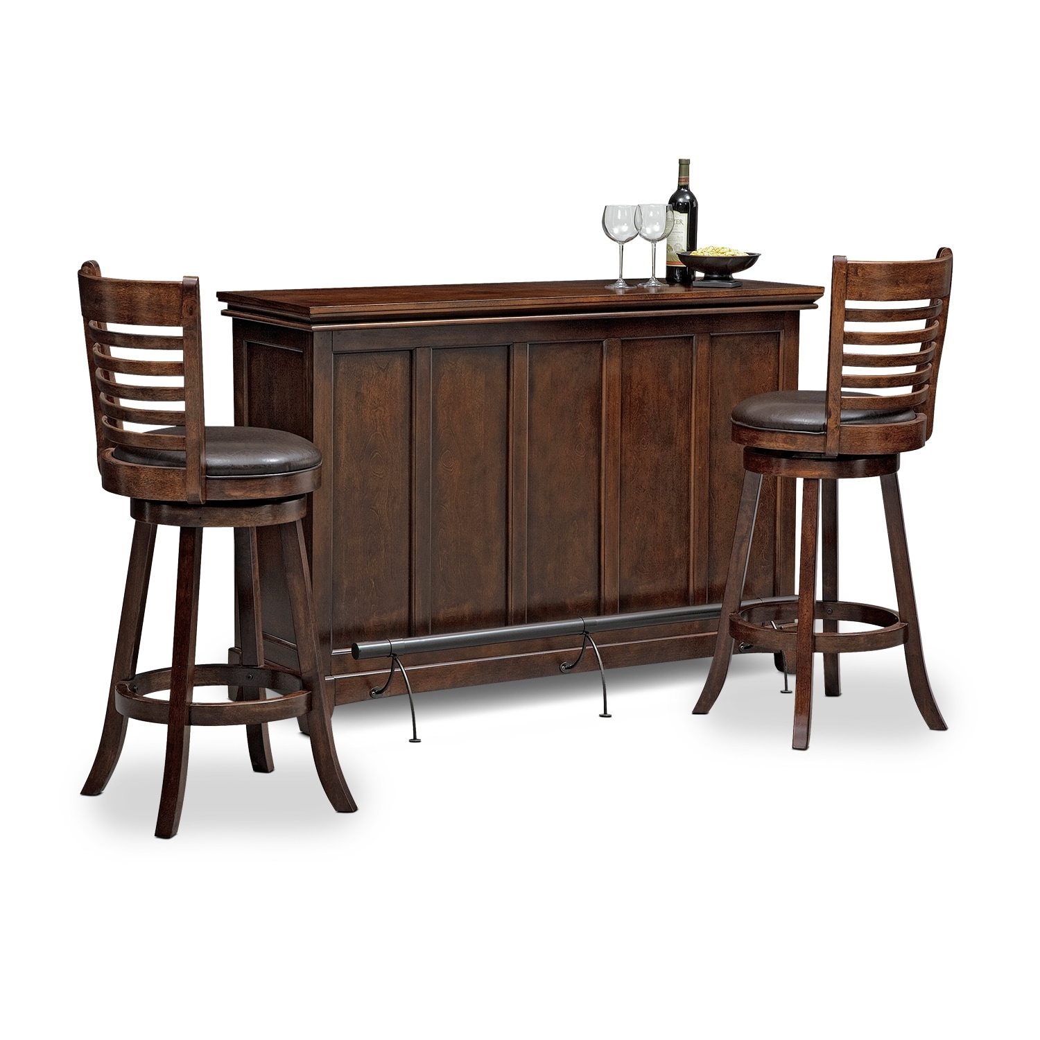 Bond turner 3 pc bar set for 3 pc dining room set