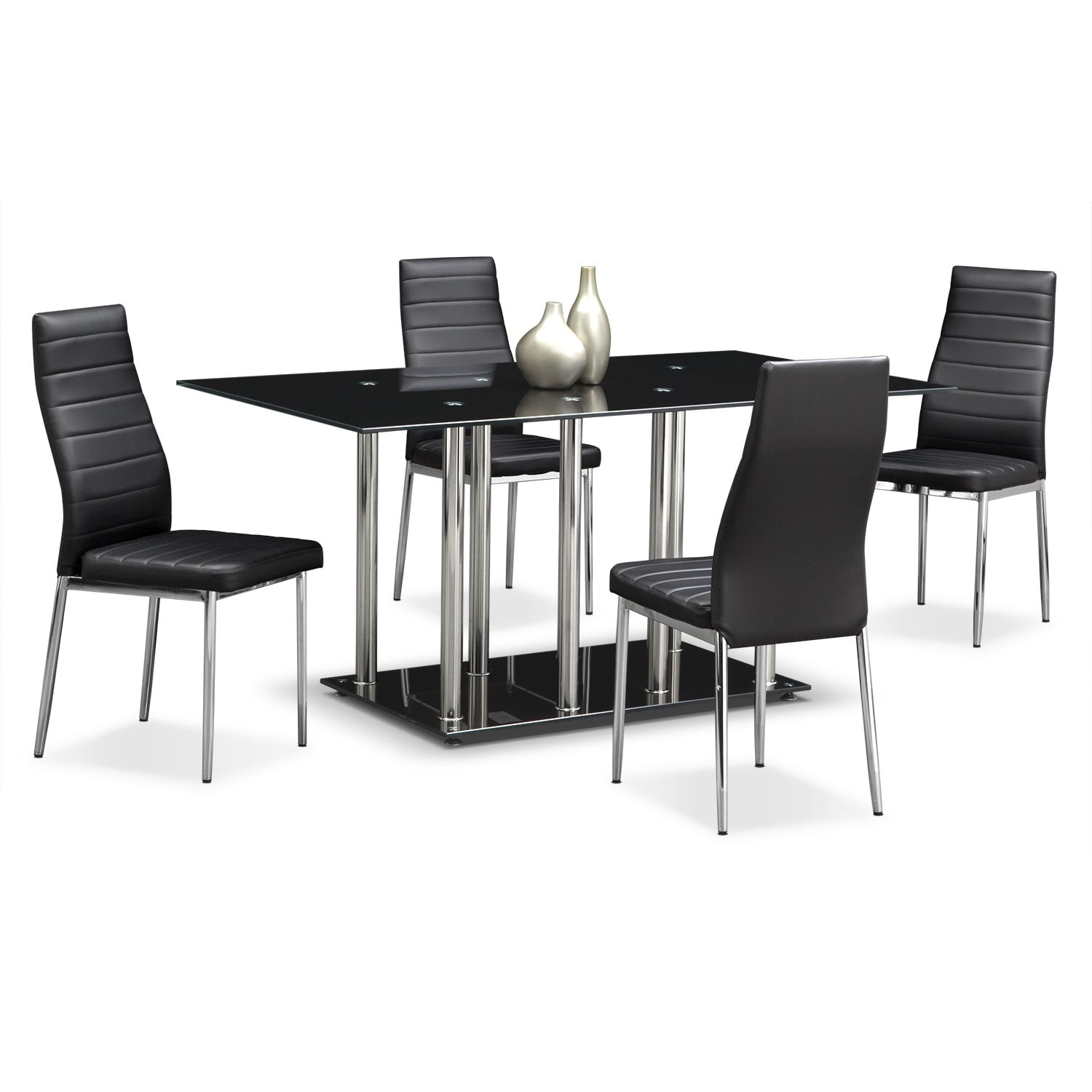 stratus 5 pc dinette american signature furniture