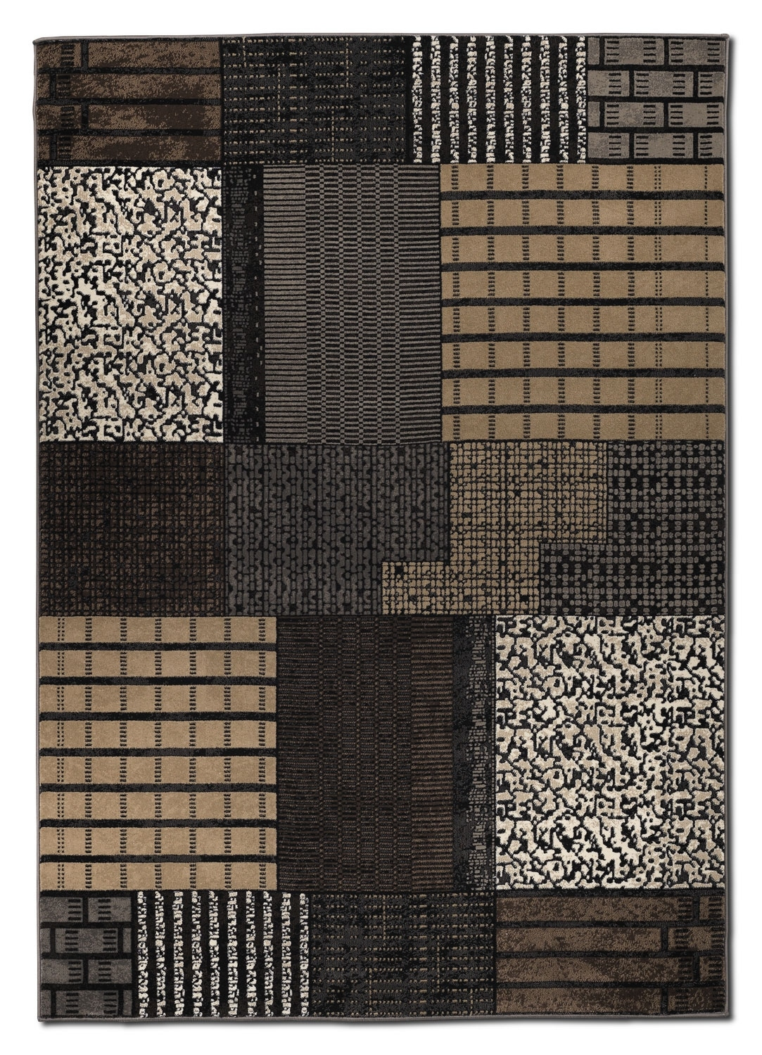 Living Room Furniture - Suitable Area Rug (5' x 8') - Brown