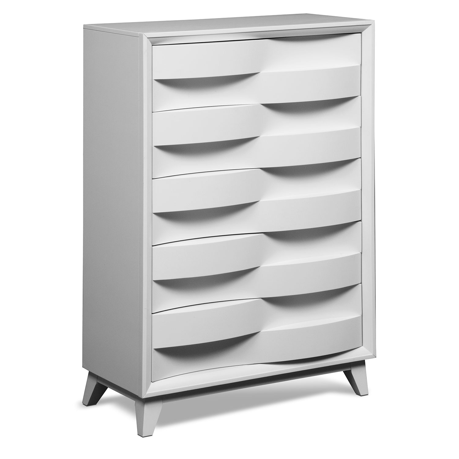cascade white bedroom chest value city furniture