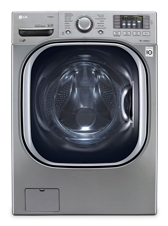 [LG Appliances Graphite Steel Front-Load Washer (5.2 Cu. Ft.) - WM4270HVA]