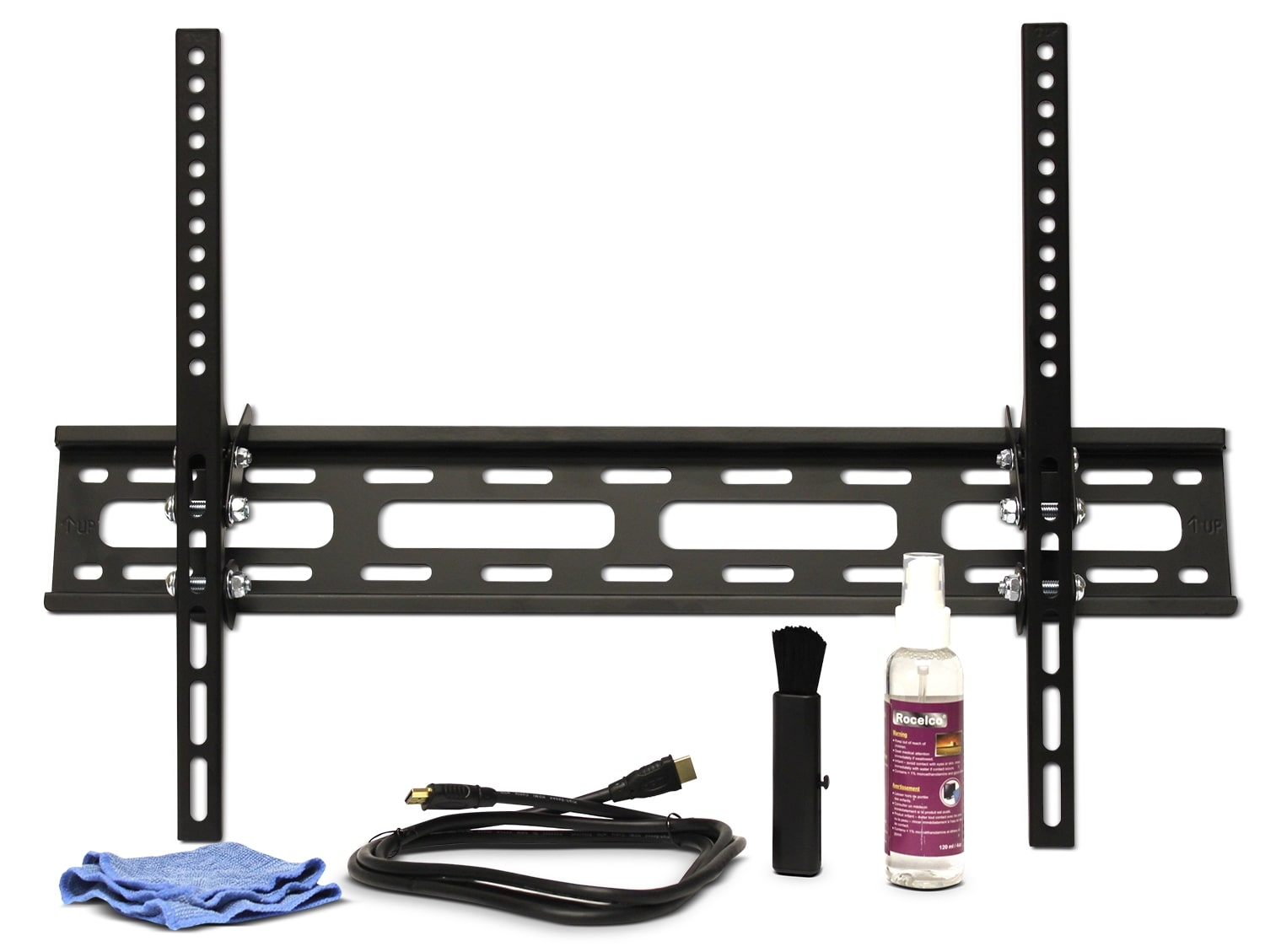 Televisions - Rocelco TV Mount, HDMI Cable and Cleaning Pack TMC