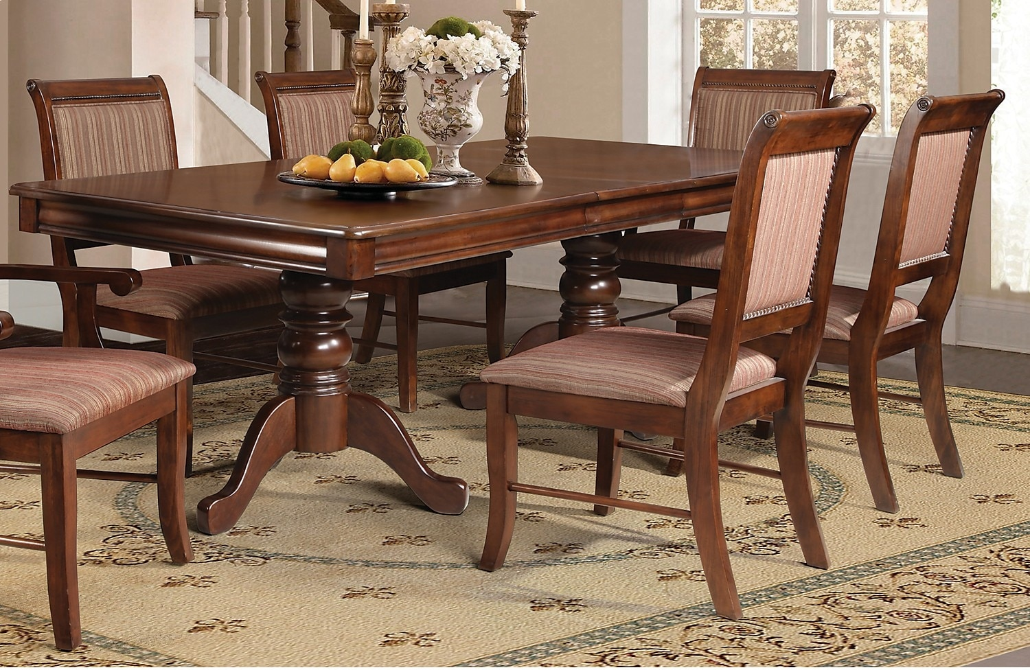 Dining Room Furniture - Louis 5-Piece Formal Dining Package