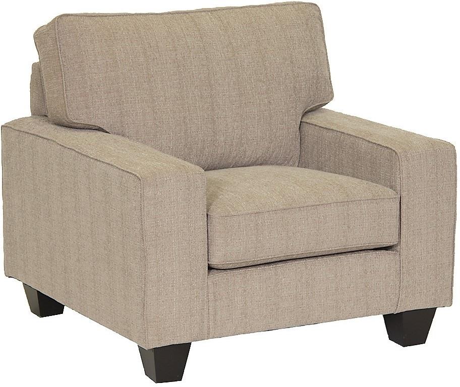Living Room Furniture - Designed2B Dax Linen-Like Chair – Mist
