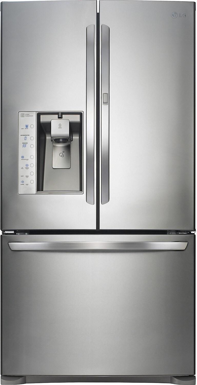 LG 29.6 Cu. Ft. 3-Door Refrigerator – Stainless Steel