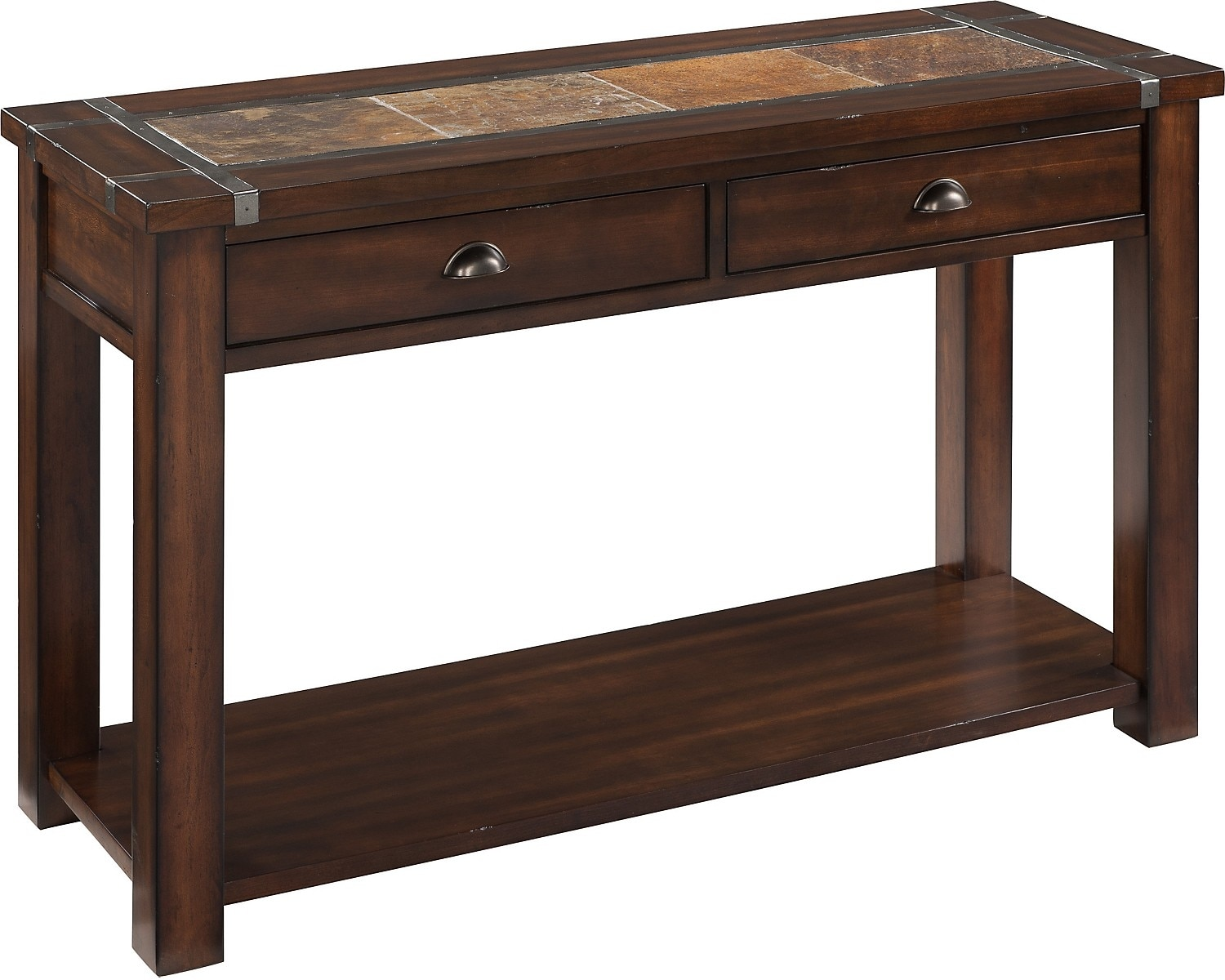 roanoke sofa table  the brick - hover to zoom