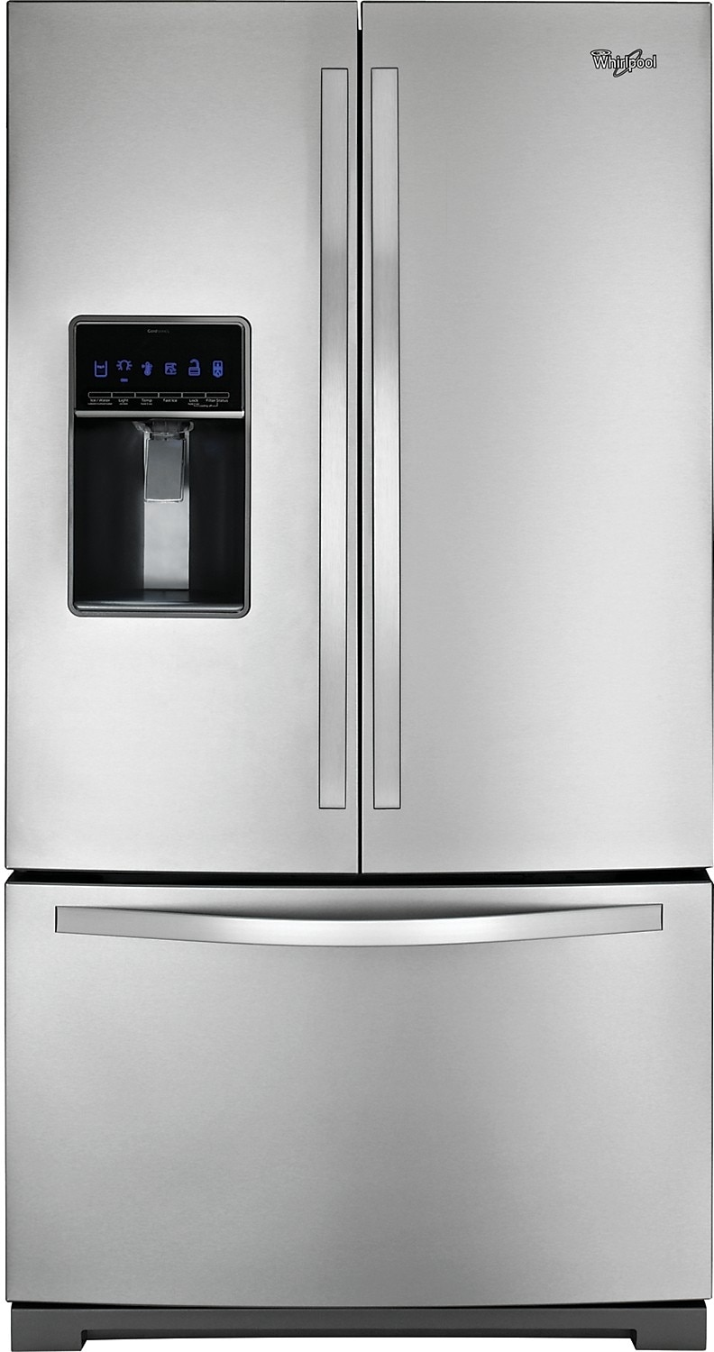 Whirlpool 25 Cu. Ft. French-Door Refrigerator – Stainless Steel