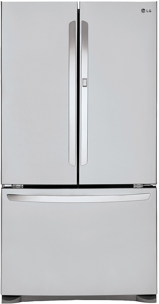 Refrigerators and Freezers - LG 24.8 Cu. Ft. 3-Door Refrigerator – Stainless Steel