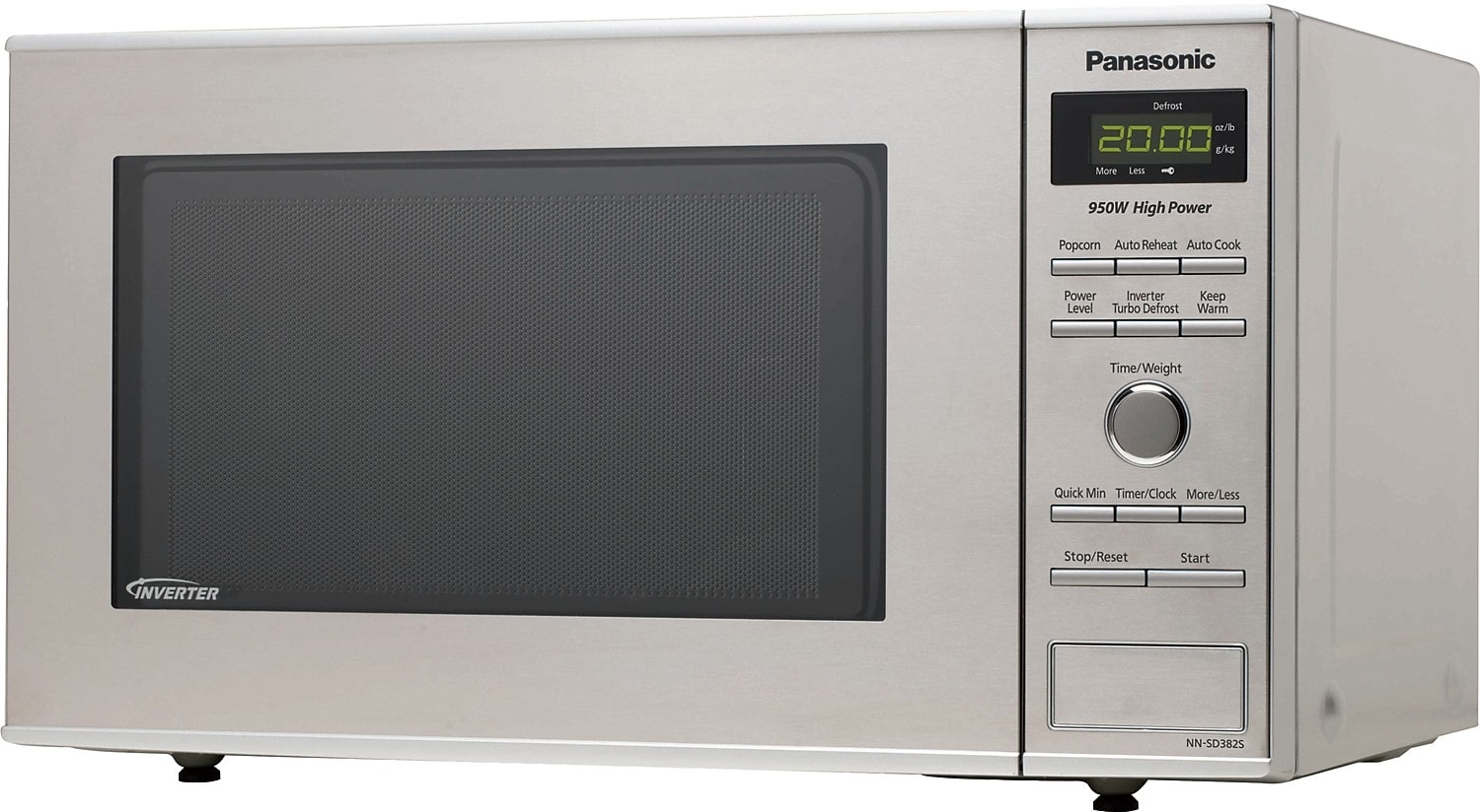 Countertop Microwave Oven Sale : Panasonic 0.8 Cu. Ft. Countertop Microwave Oven ? Stainless Steel ...