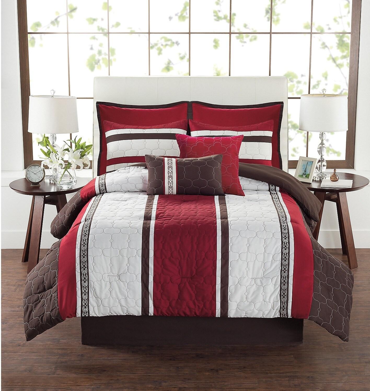 DARREN 8-Piece King Comforter Set
