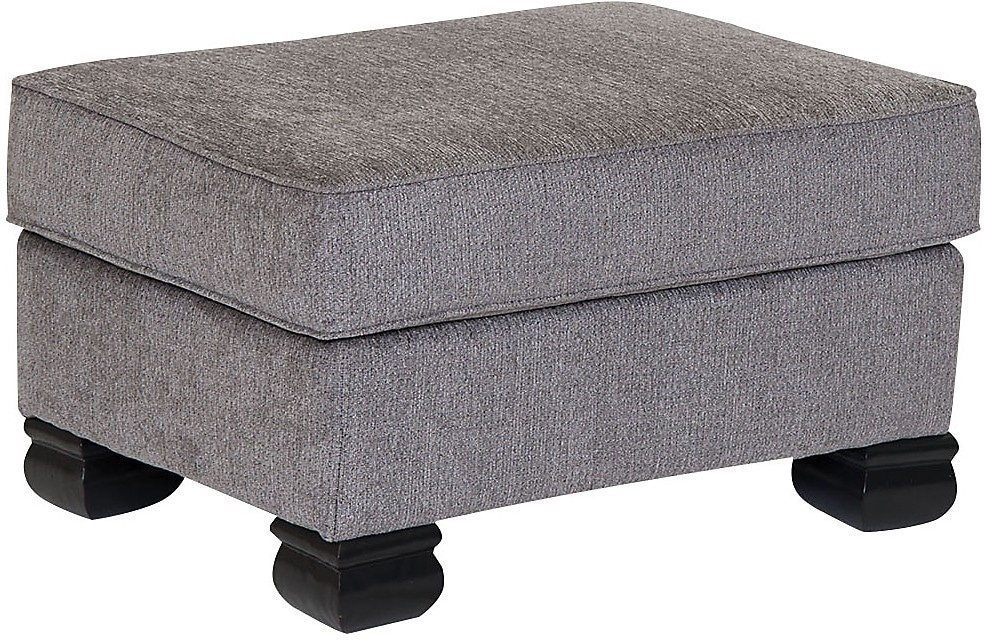 Hazel 2 Piece Chenille Left Facing Sectional Grey The