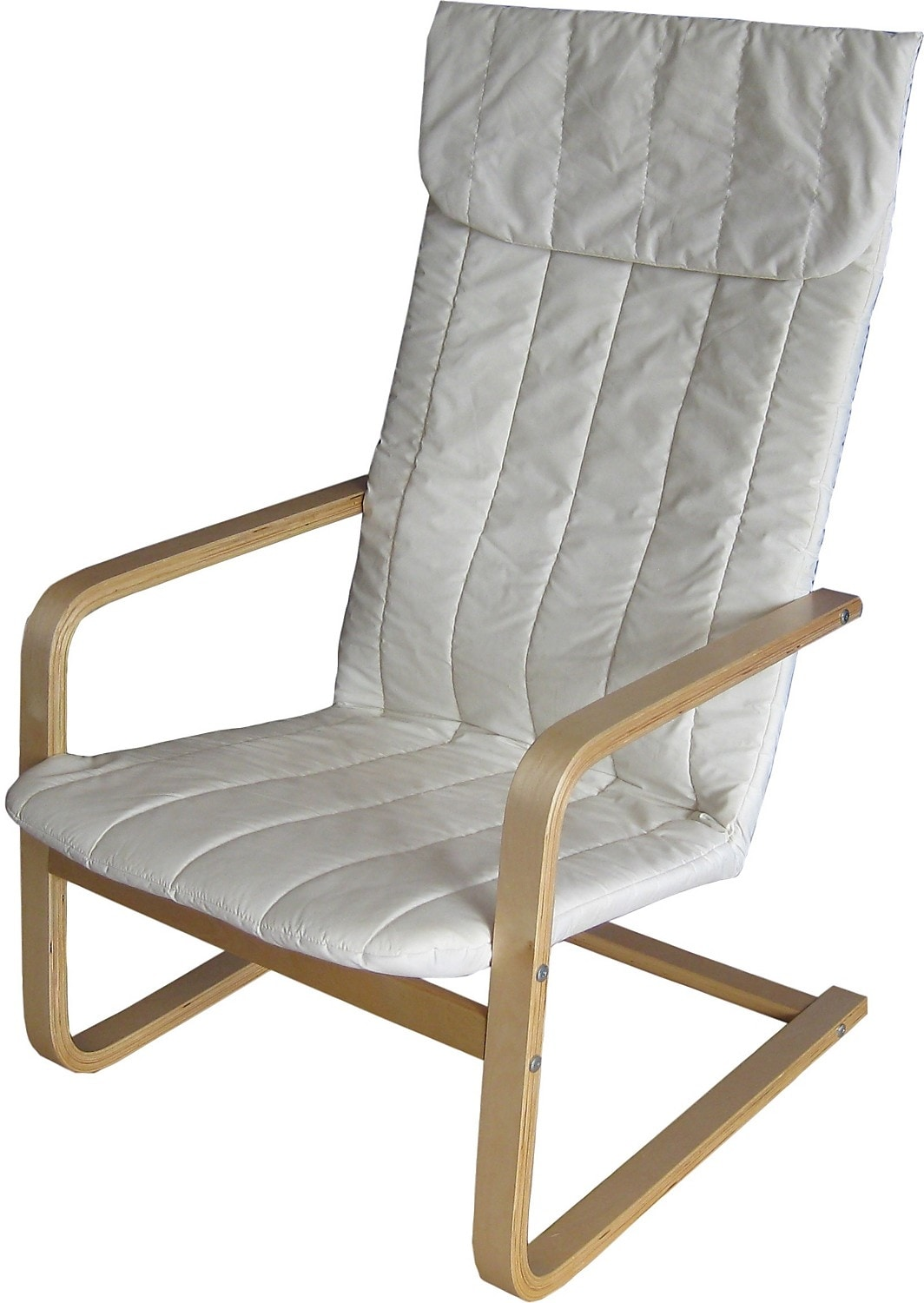 Living Room Furniture - Valko Bentwood Chair – Warm White