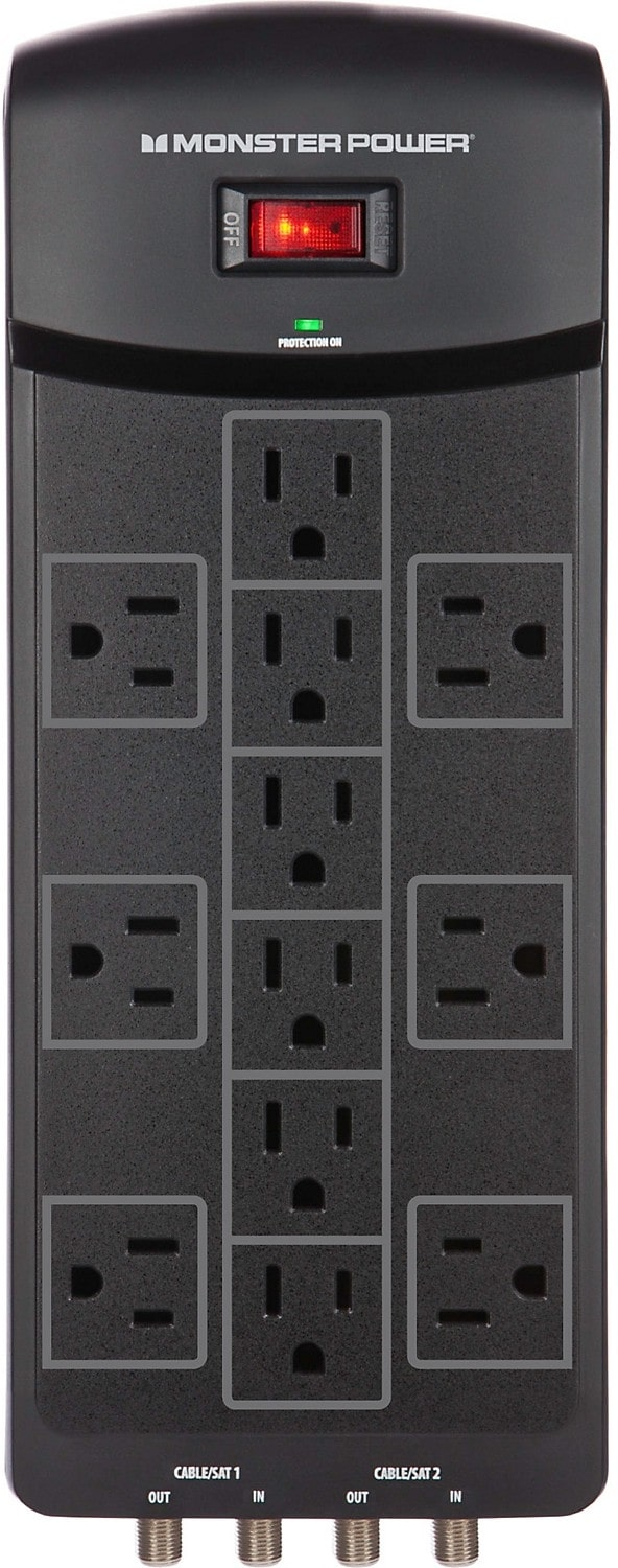 Monster 12 Outlet Power Bar