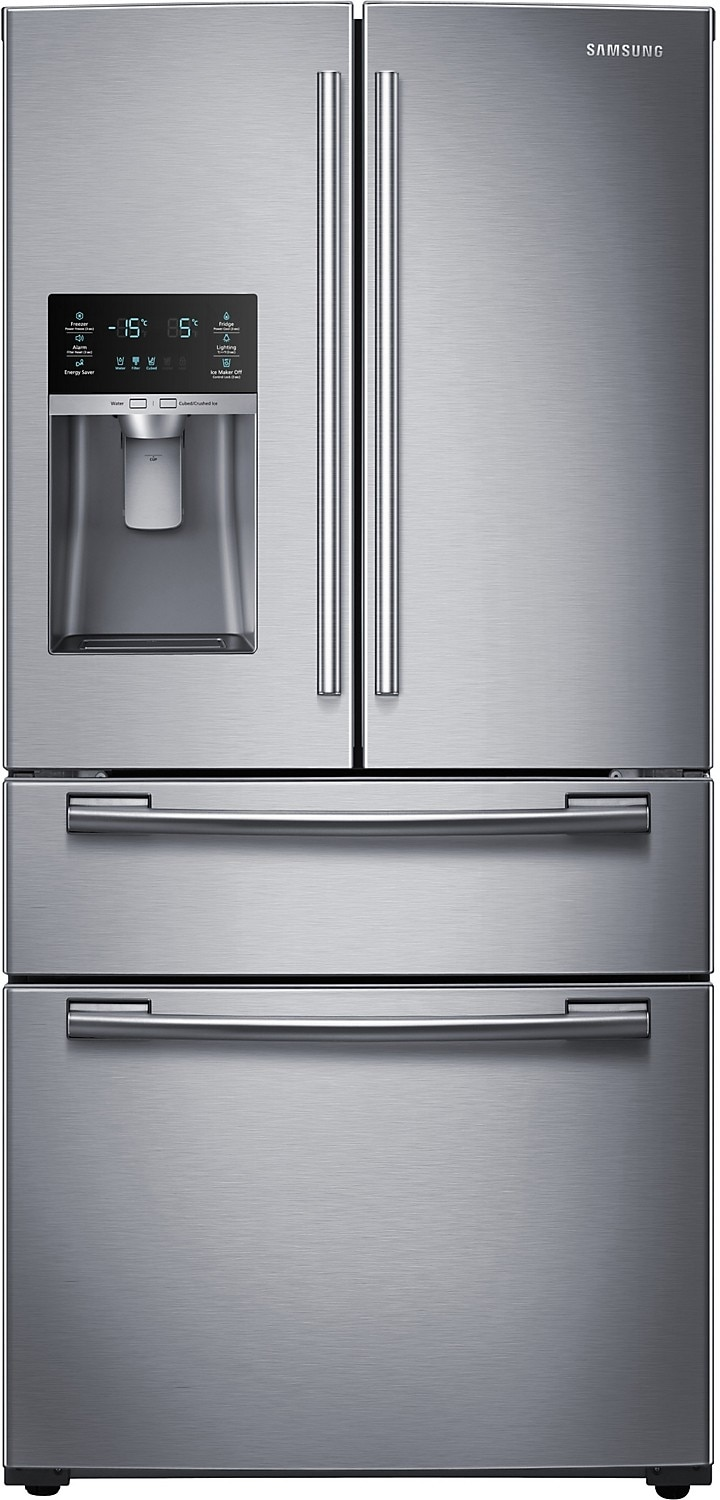 Refrigerators and Freezers - Samsung 28.15 Cu. Ft. French-Door Refrigerator – Stainless Steel