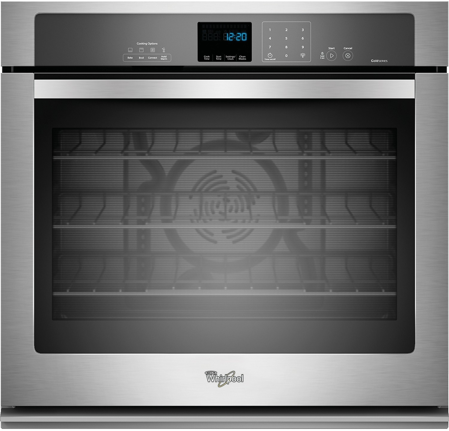 Whirlpool Gold® 5.0 Cu. Ft. Single Wall Oven – Stainless Steel