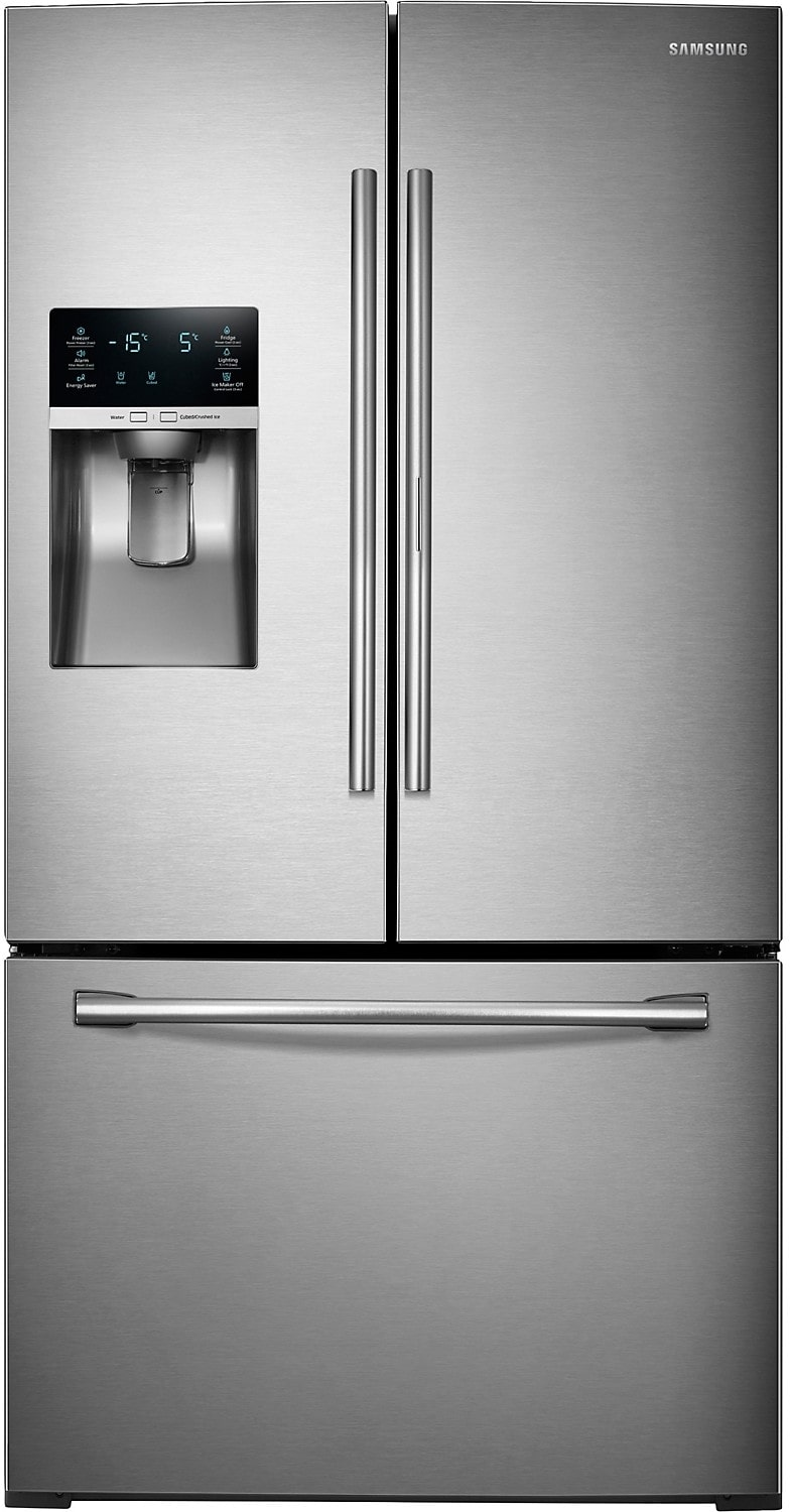 Refrigerators and Freezers - Samsung 28 Cu. Ft. 3-Door Refrigerator – Stainless Steel