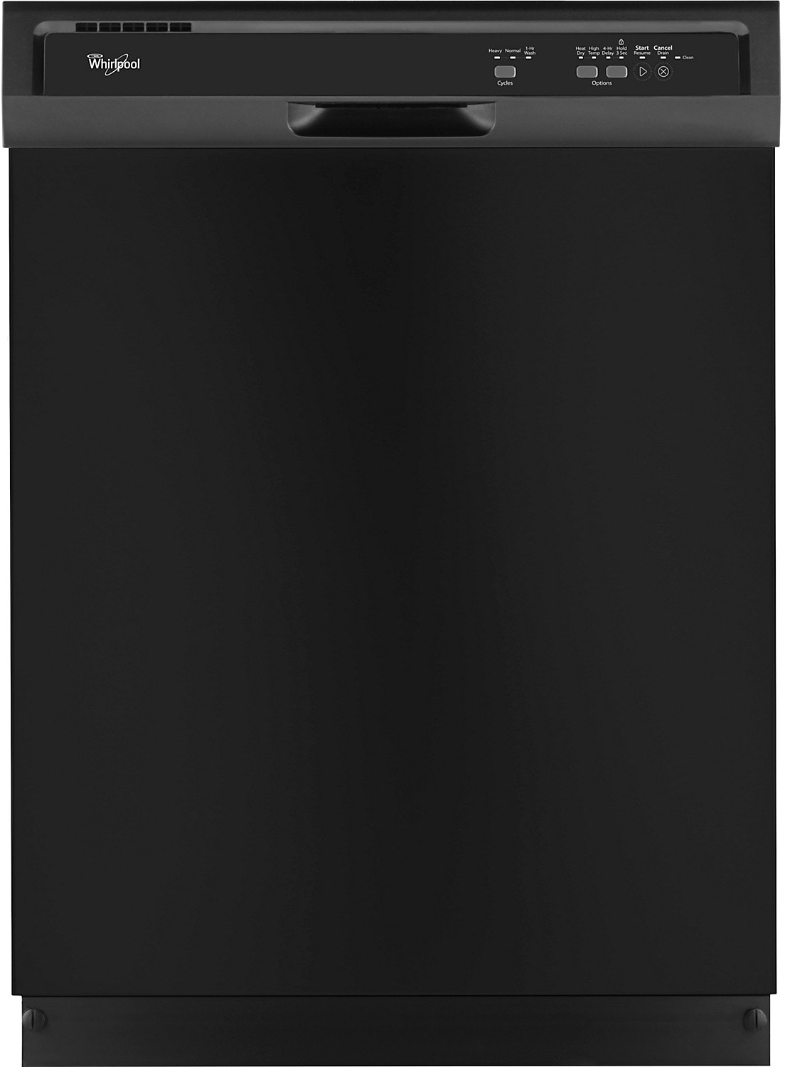 Whirlpool® Built-In Dishwasher - Black