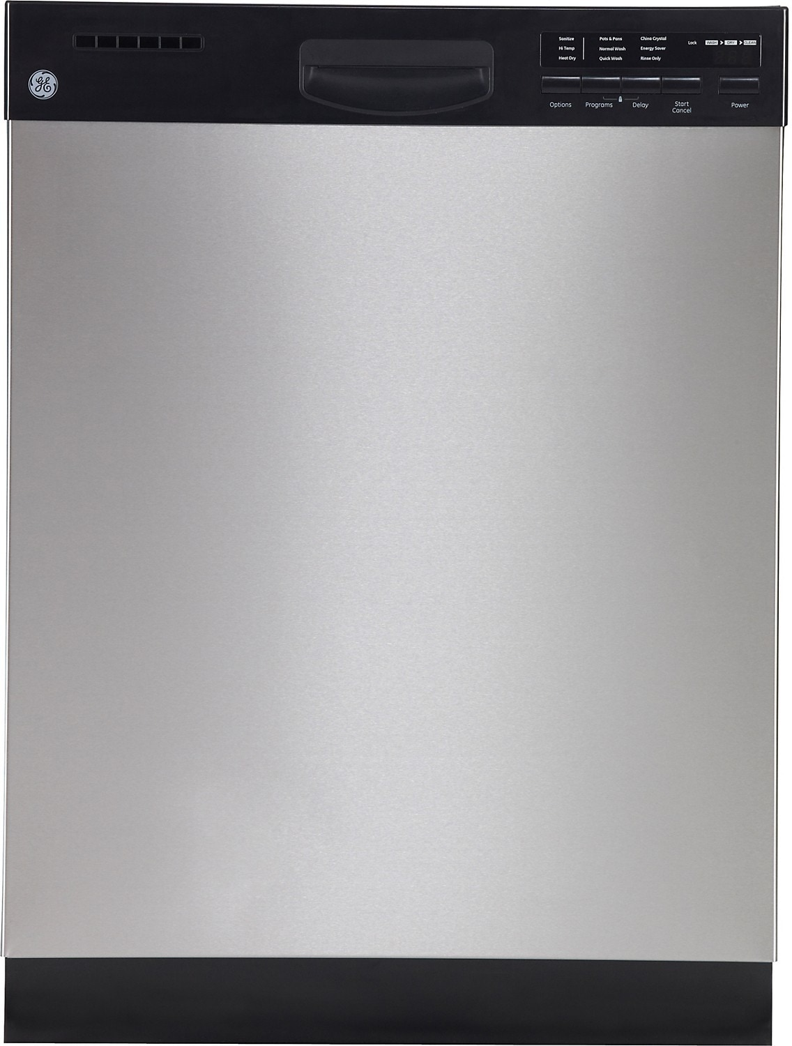 "Clean-Up - GE 24"" Built-In Dishwasher with QuietMotor™ - Stainless Steel"