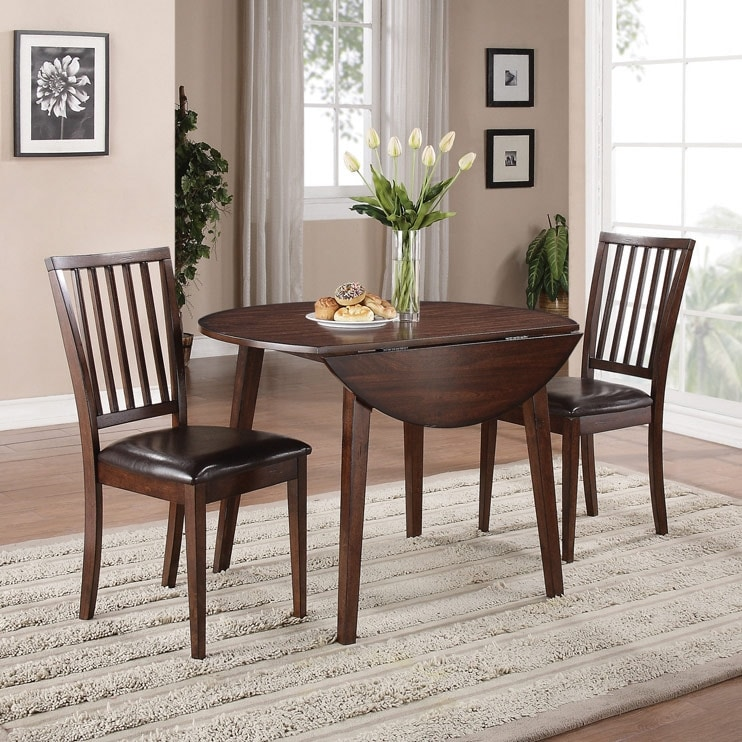 Dining Room Furniture - Adara 5-Piece Round Dining Package