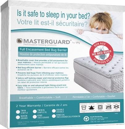 Mattresses and Bedding - Masterguard® Encasement Bedbug Barrier