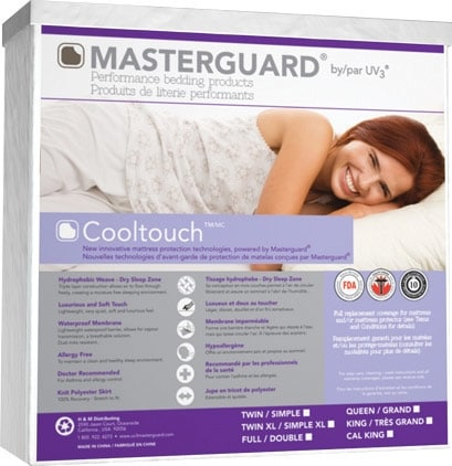 Mattresses and Bedding - Masterguard® CoolTouch™ Queen Mattress Pad