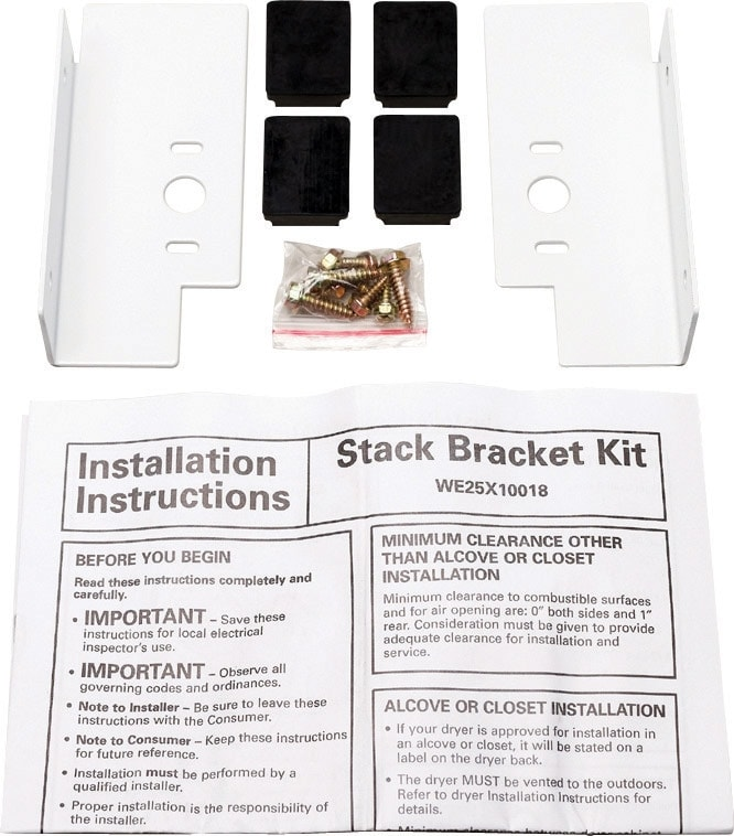 Appliance Accessories - GE Laundry Stacking Kit