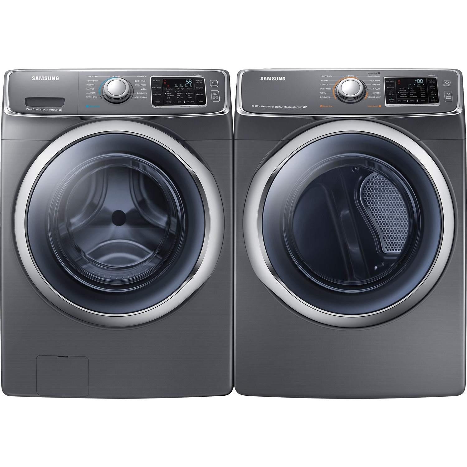 Samsung 5 2 Cu Ft High Efficiency Front Load Washer And