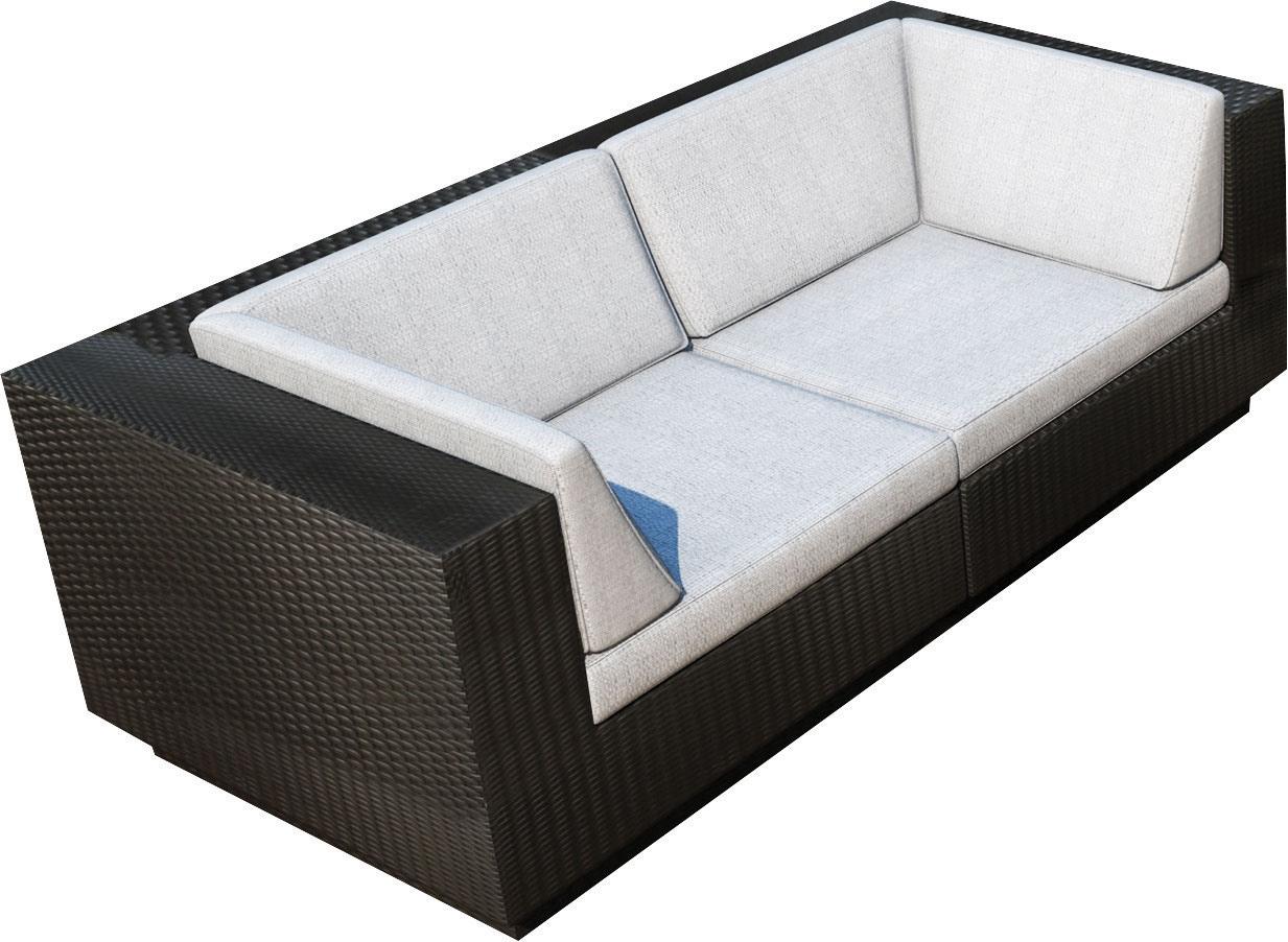 Outdoor Furniture - Parkview Patio Sofa Set - Black